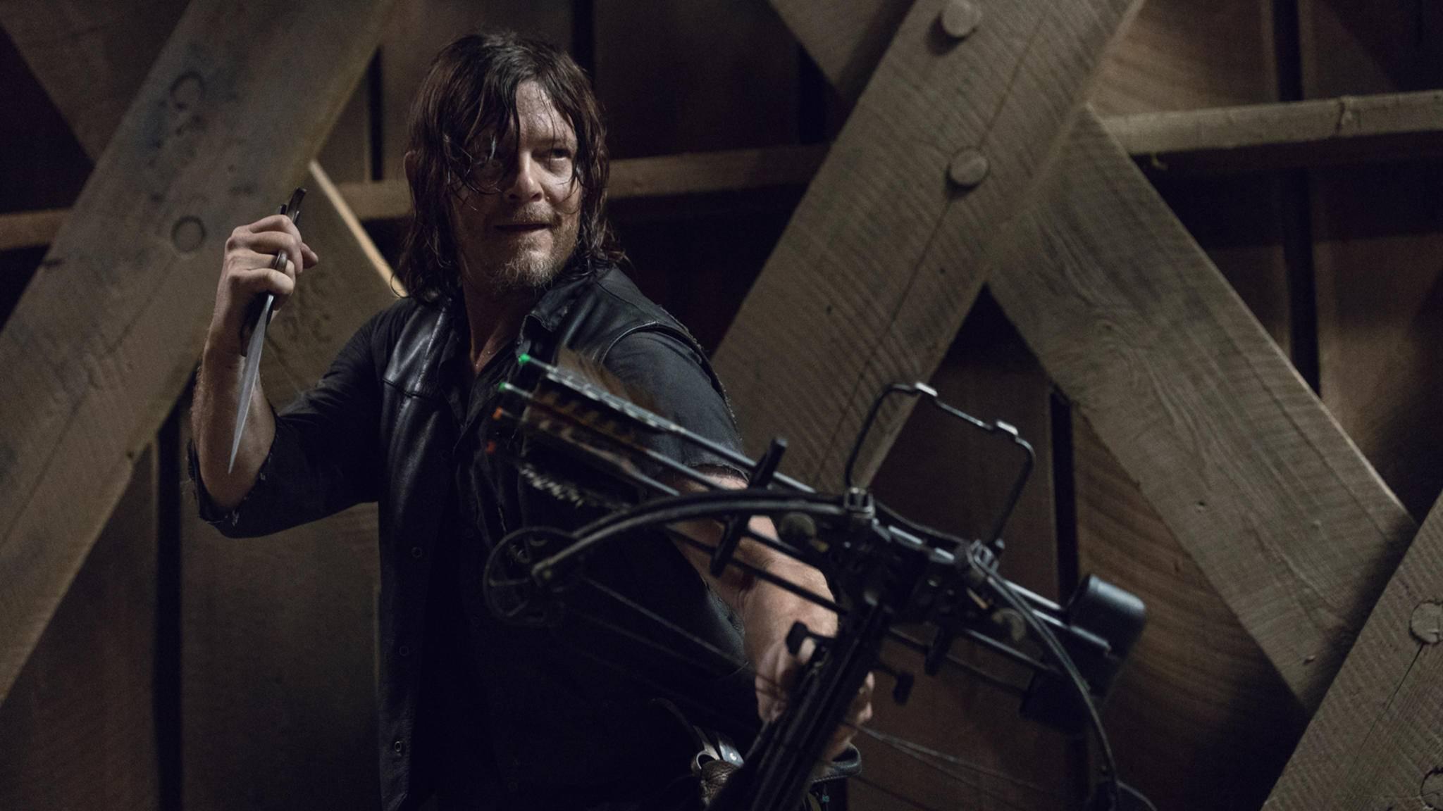 Daryl hat in der zweiten Hälfte von Staffel 9 sein ganz eigenes Hühnchen mit Alpha zu rupfen.