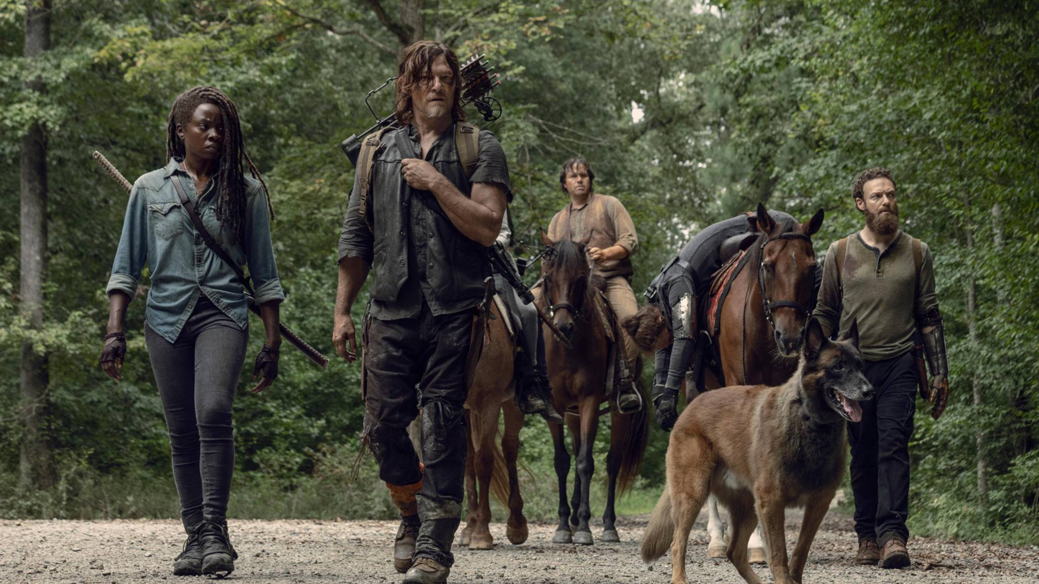 "Danai Gurira (links) verlässt ""The Walking Dead""."