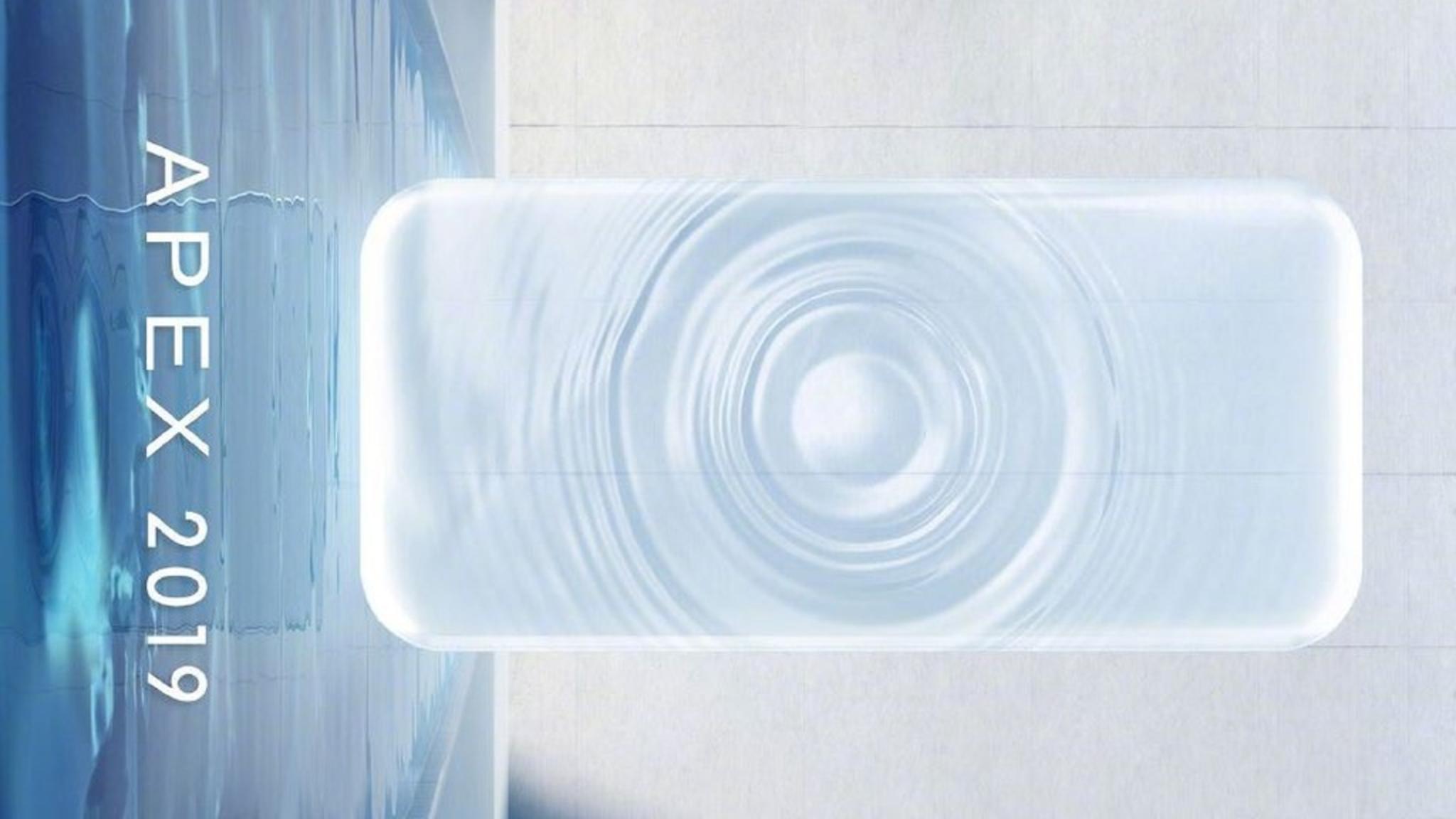 """Das """"Wassertropfen""""-Smartphone ist kein finales Produkt."""