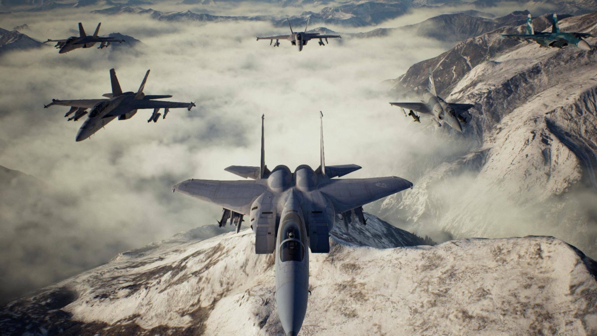 """Alle Flugzeuge in """"Ace Combat 7"""" freispielen: So komplettierst Du Dein Geschwader."""