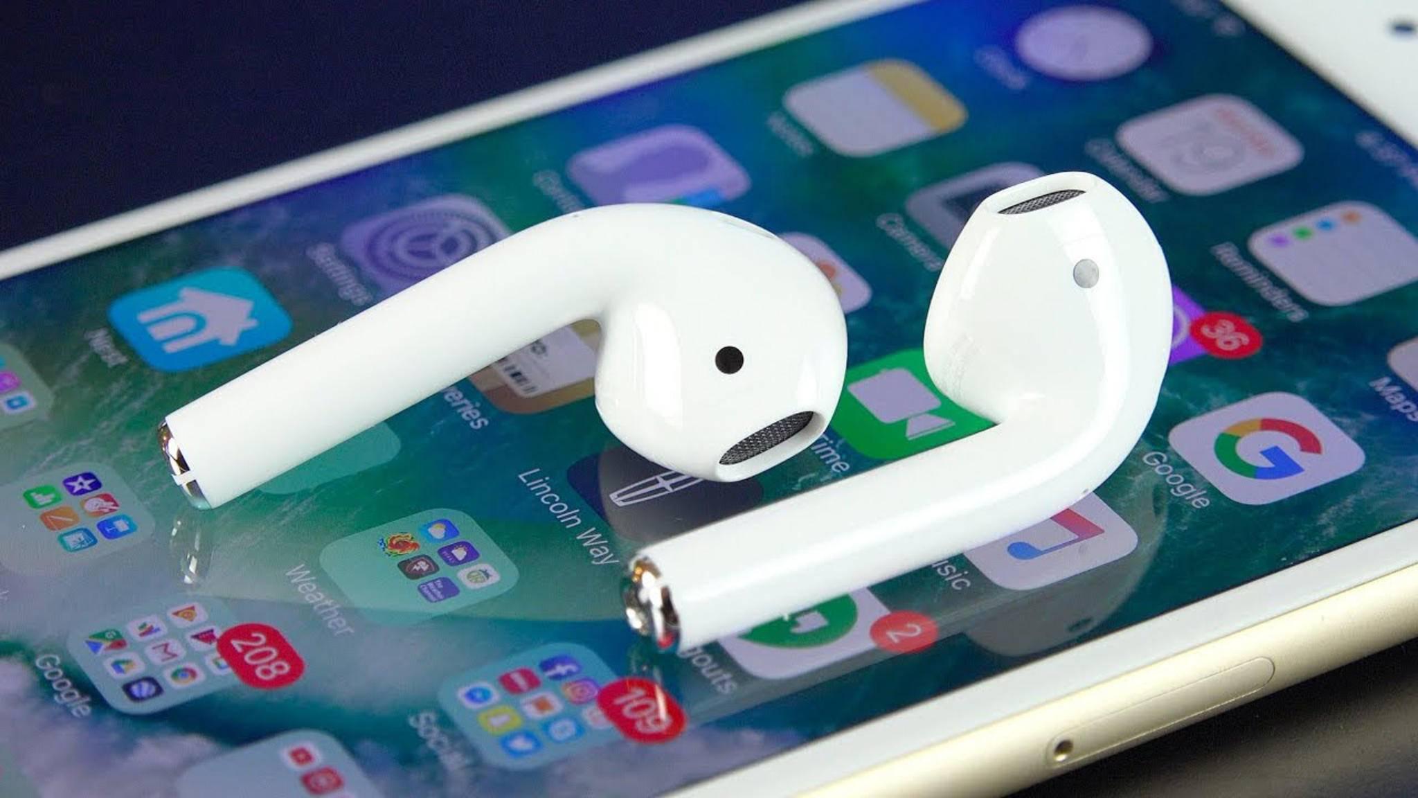 Die Apple AirPods sollen schon bald einen Nachfolger bekommen.
