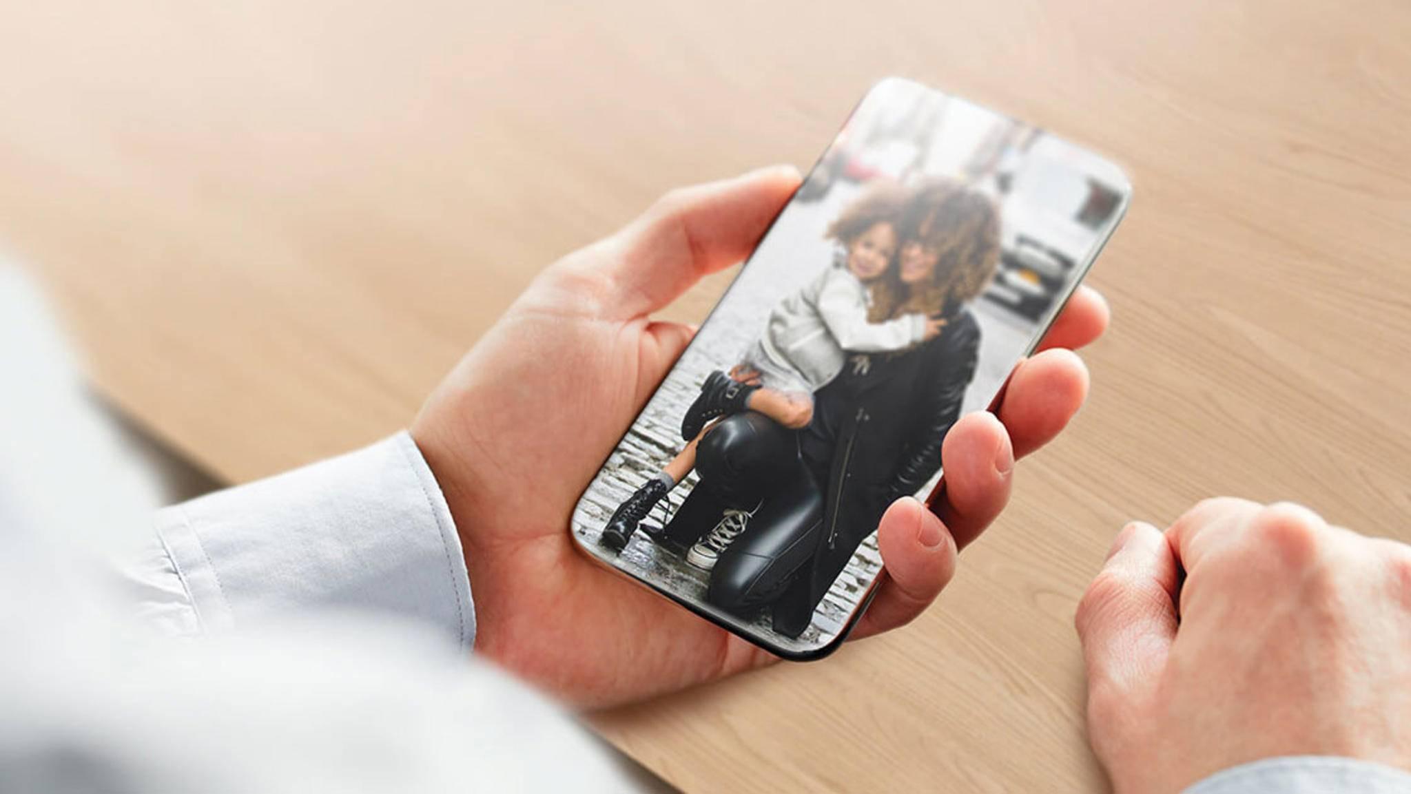 Die neuen Sensoren sollen auch den Weg für völlig randlose Smartphones ebnen.