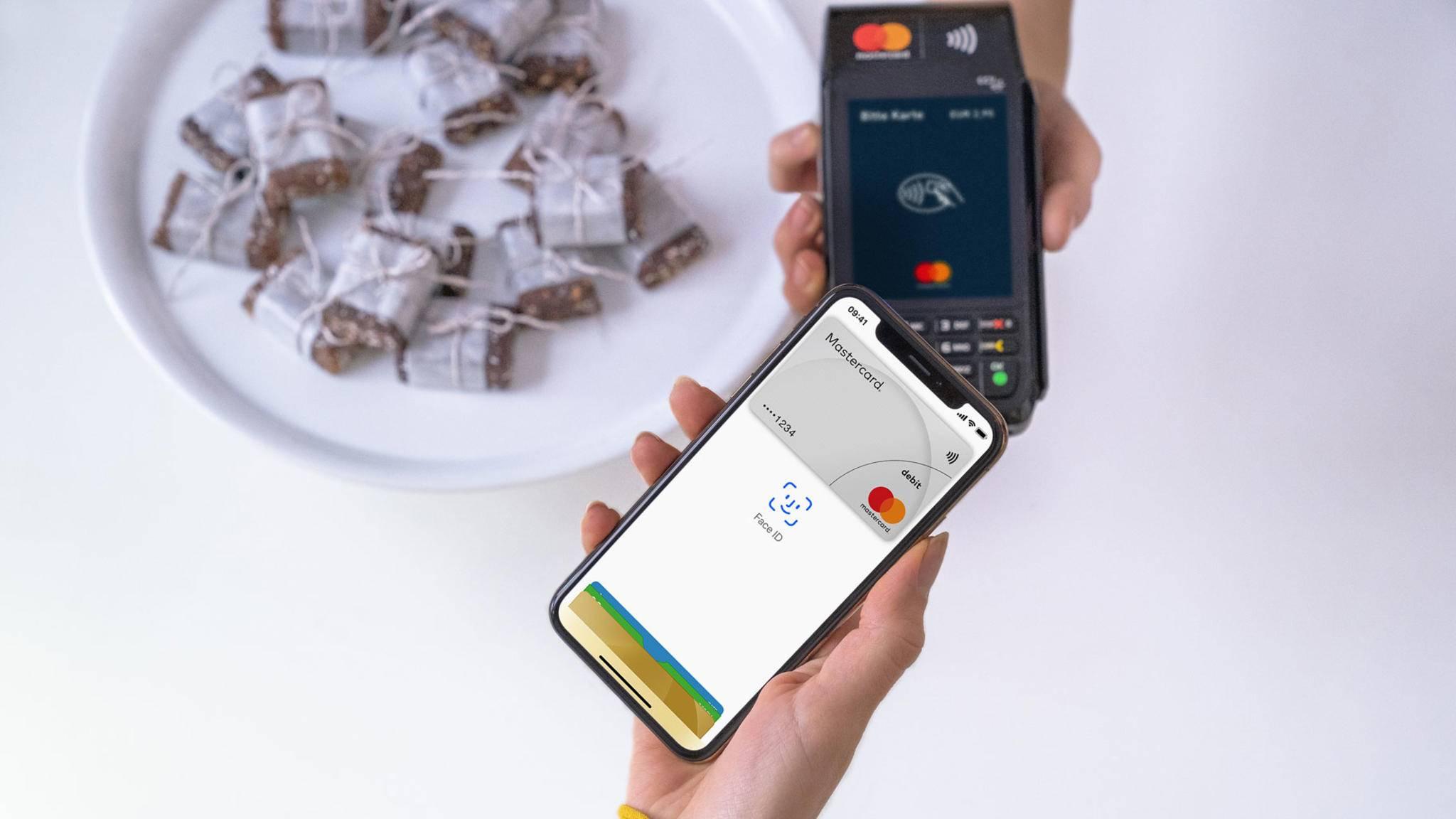Apple Pay wird immer wichtiger bei den Kreditkarten-Transaktionen.