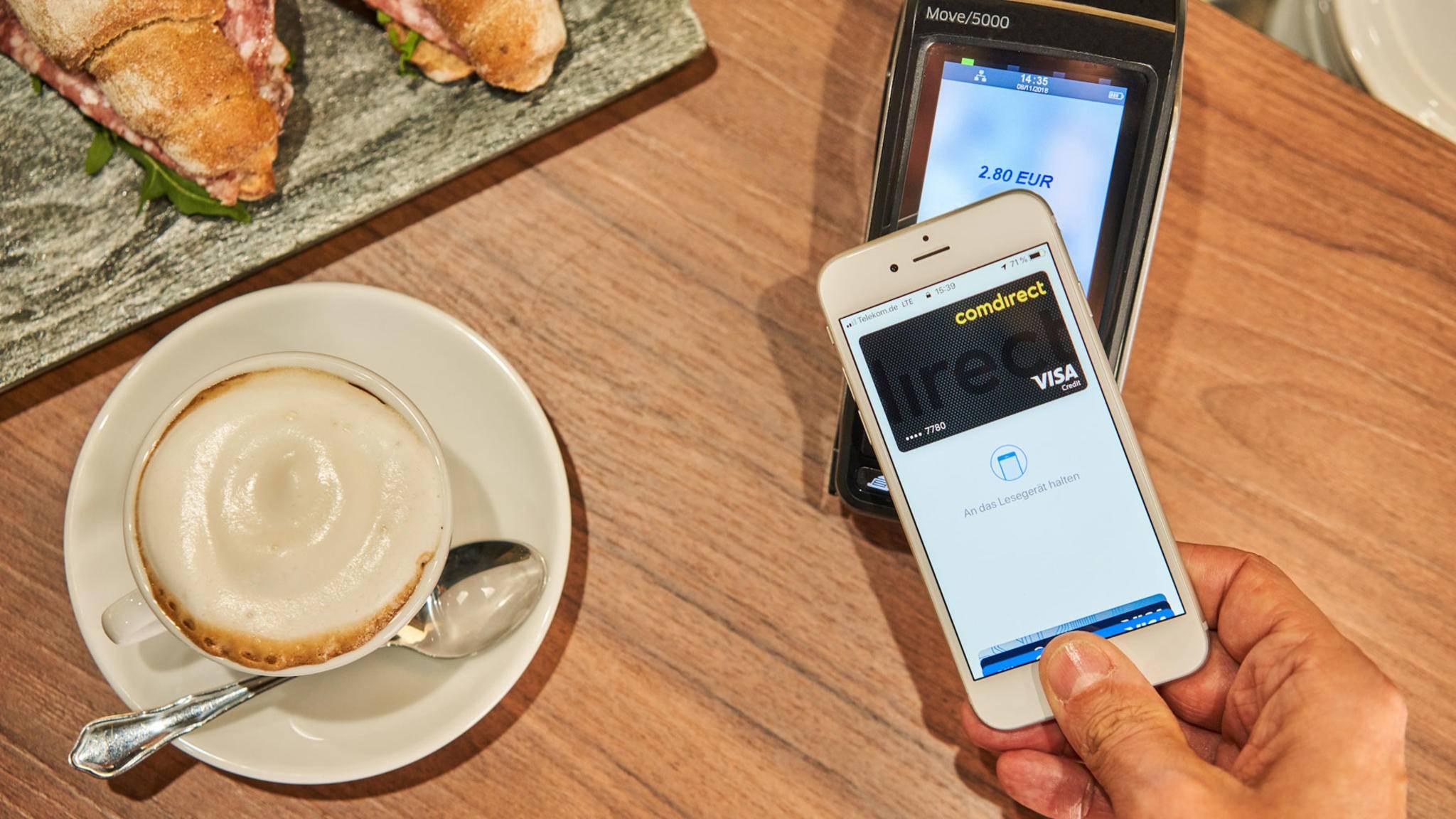 In den USA ist Apple Pay erfolgreicher als die Starbucks-App.
