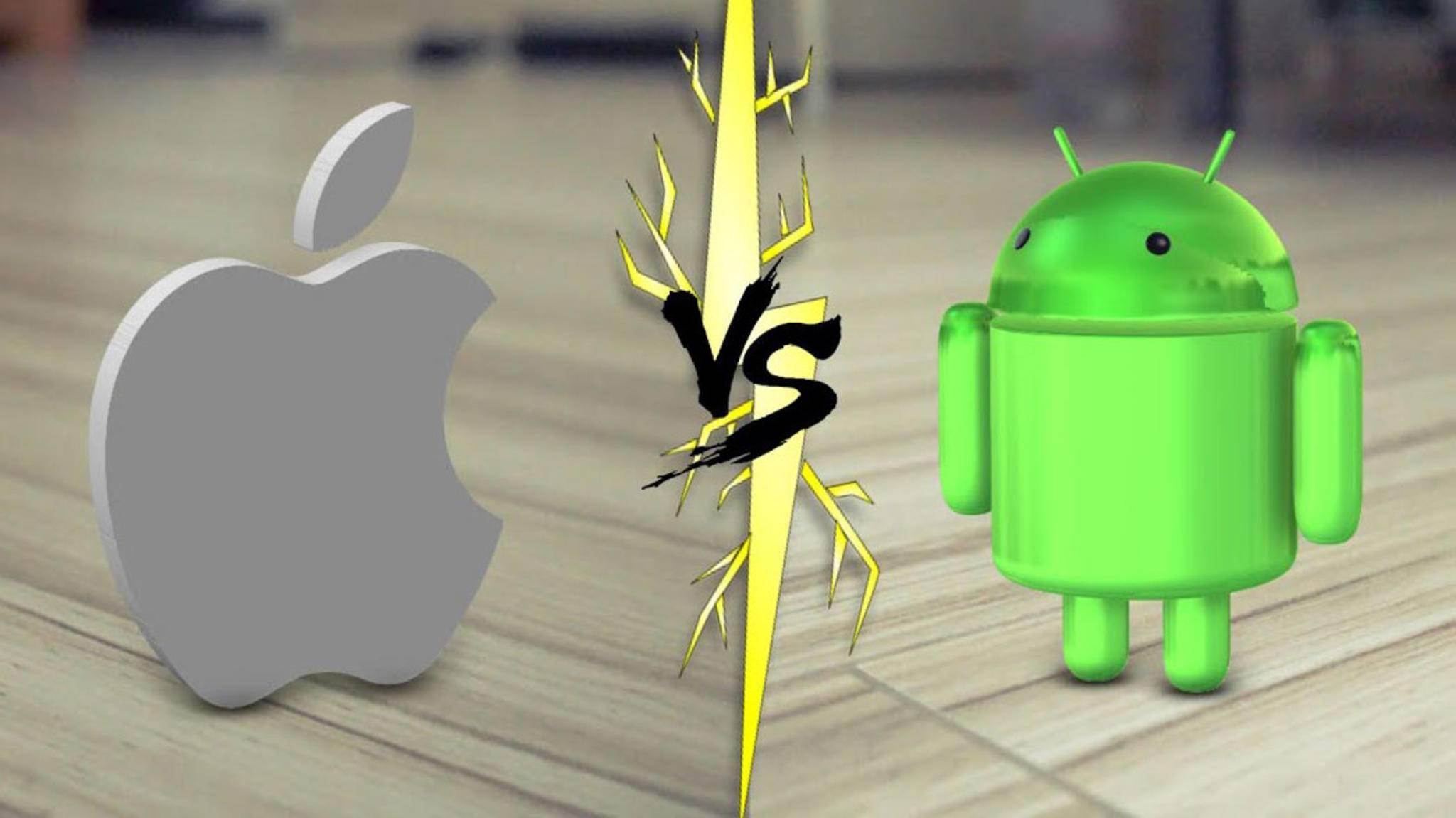 Wer sich einmal für iOS oder Android entschieden hat, wechselt so schnell nicht mehr.