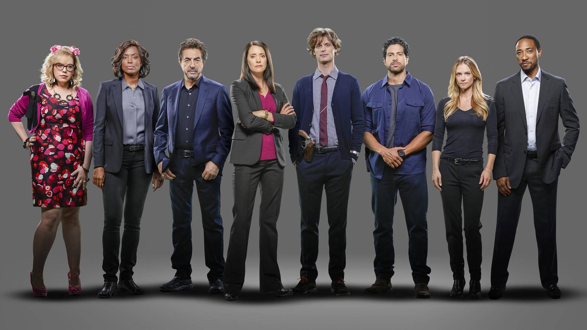 """Die Profiler von """"Criminal Minds"""" gehen in den Ruhestand."""
