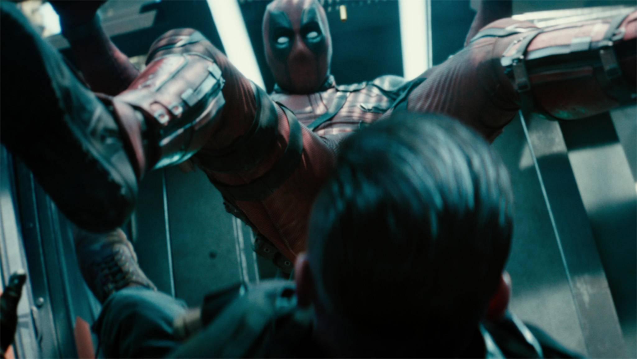 Deadpool macht mit seinen Späßen auch vor den Zuschauern nicht halt.