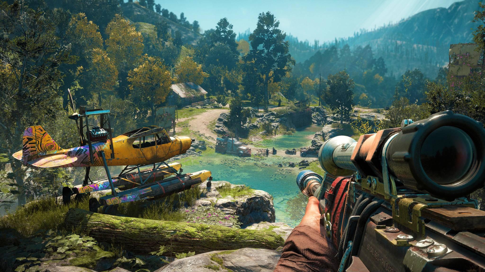 """""""Far Cry 6"""" verlässt Hope County, das der Schauplatz der beiden letzten Teile war (hier in """"Far Cry: New Dawn"""")."""