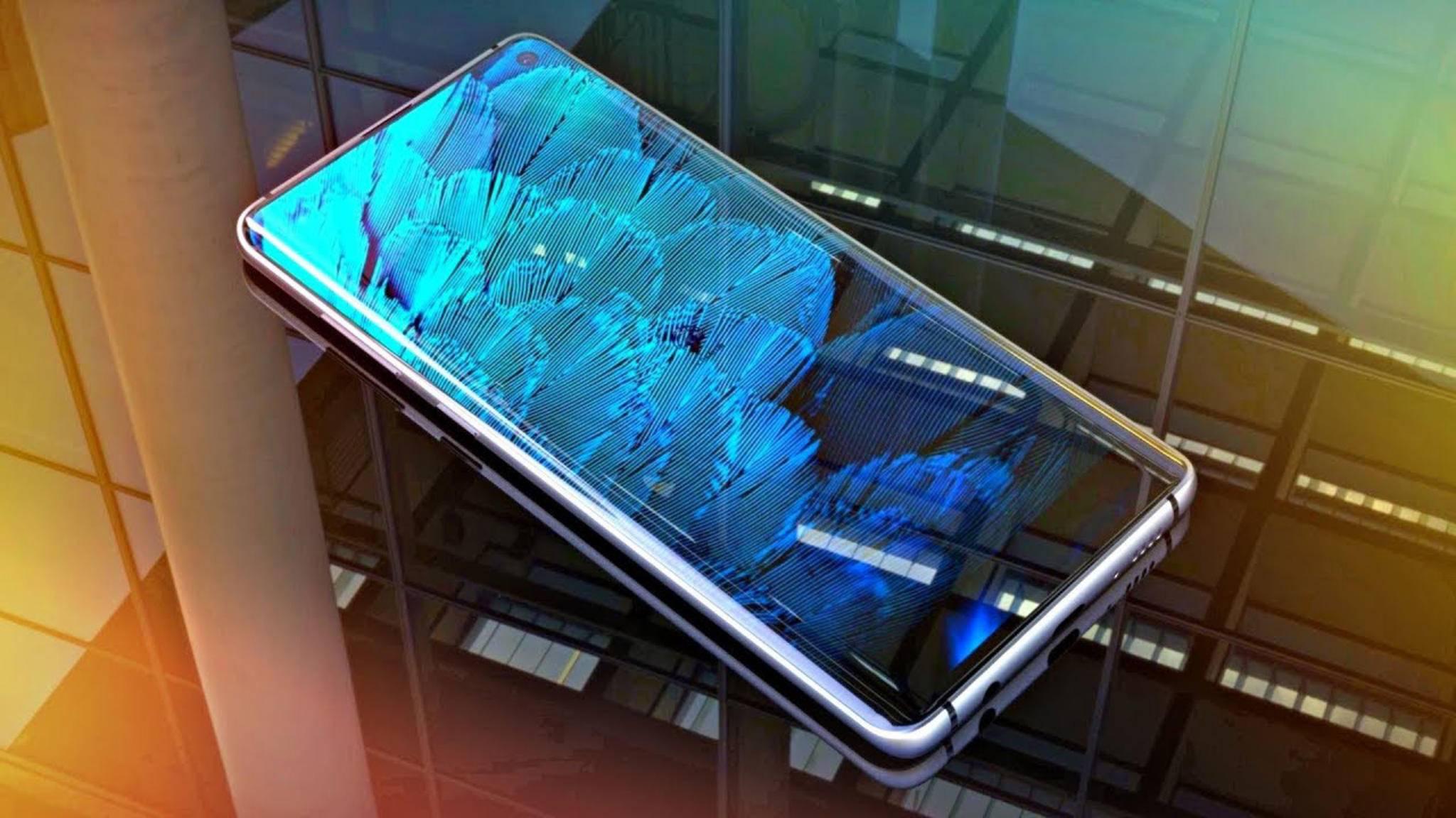 Das iPhone XS hat voraussichtlich den schnelleren Chip als das Galaxy S10 (hier ein Konzeptbild).