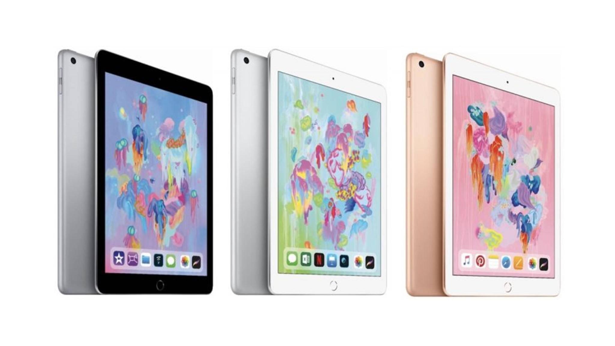 Diese Woche sind mehrfach Hinweise auf neue iPads aufgetaucht.