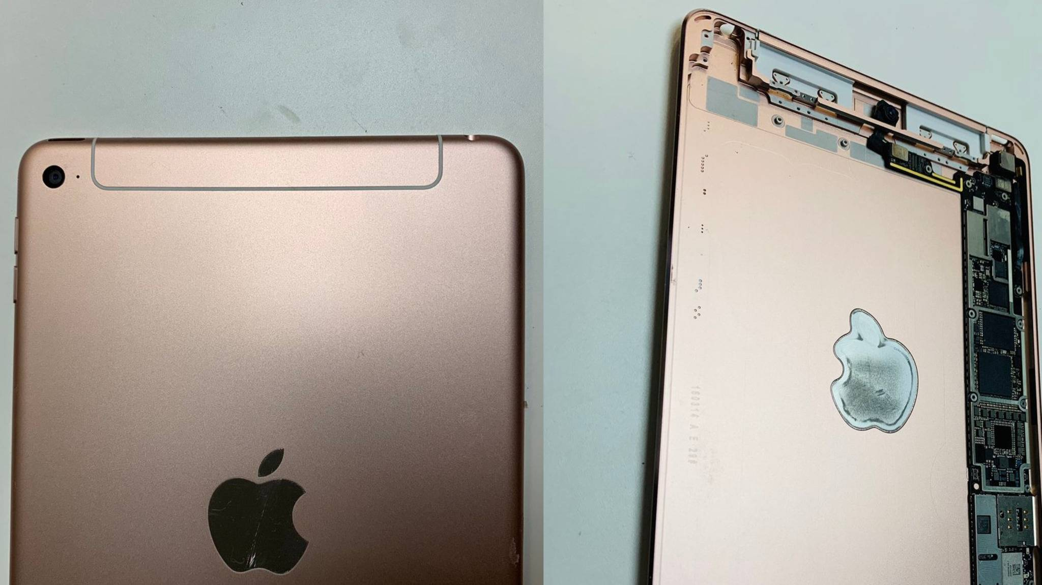 Auf diesen Bilder könnte das iPad mini 5 zu sehen sein.