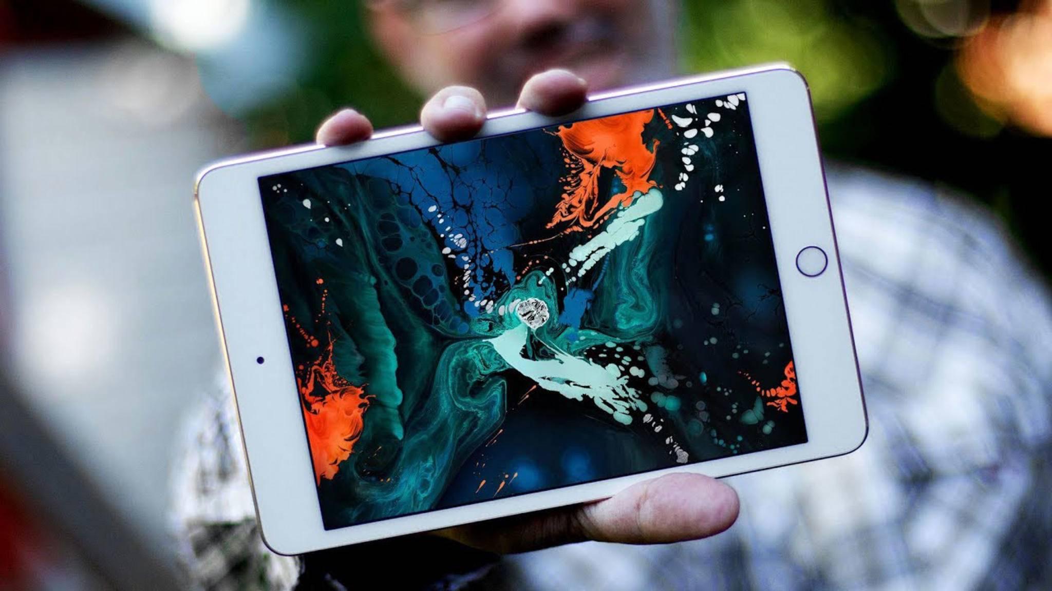 Das neue iPad mini 5 könnte schon im März vorgestellt werden.