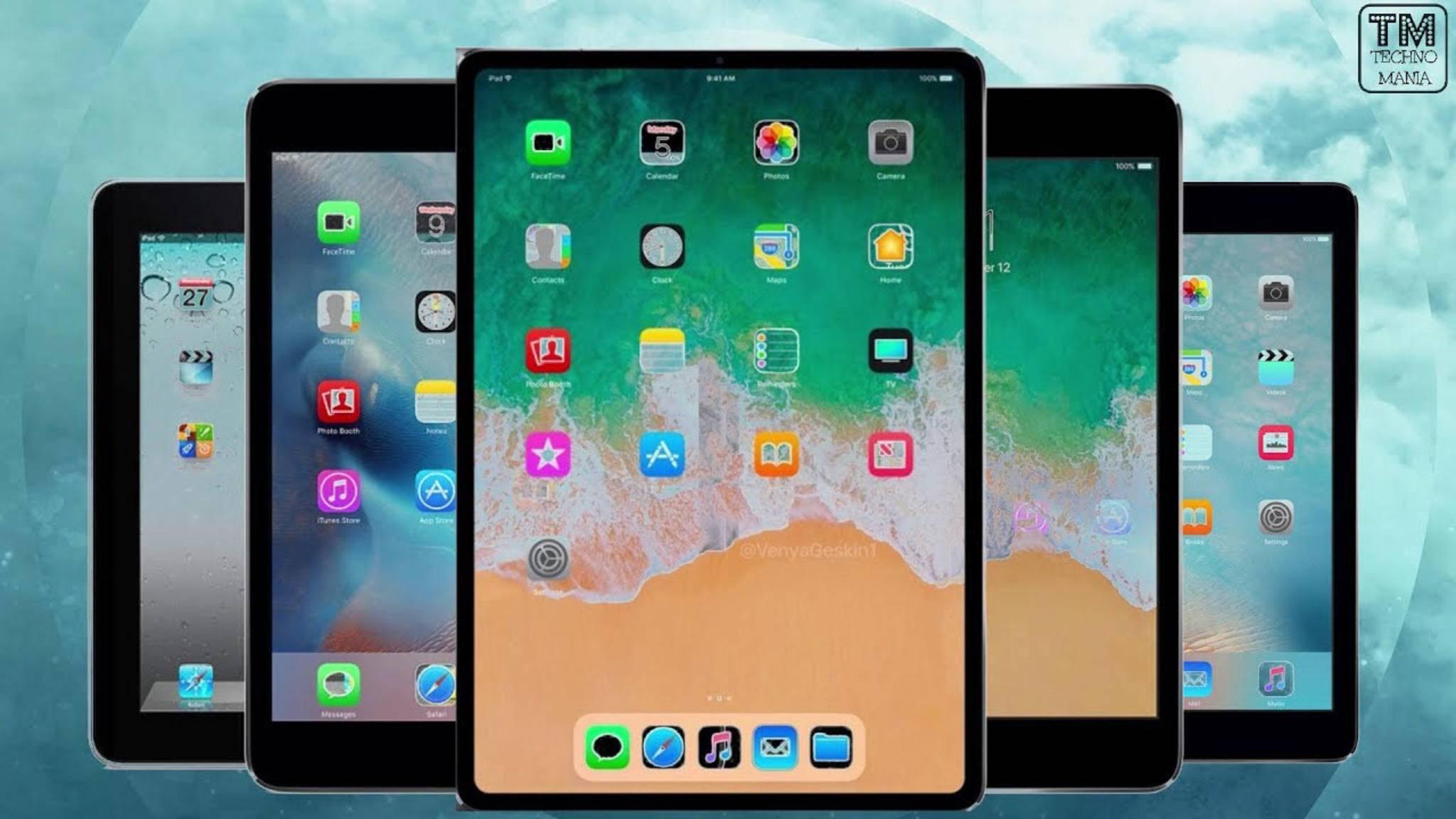 So viele iPads! Wir haben den Überblick über alle Modelle.