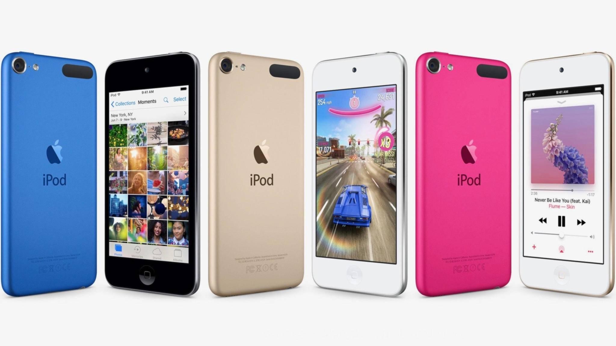 Nach mehr als drei Jahren wäre es mal wieder Zeit für einen neuen iPod touch.