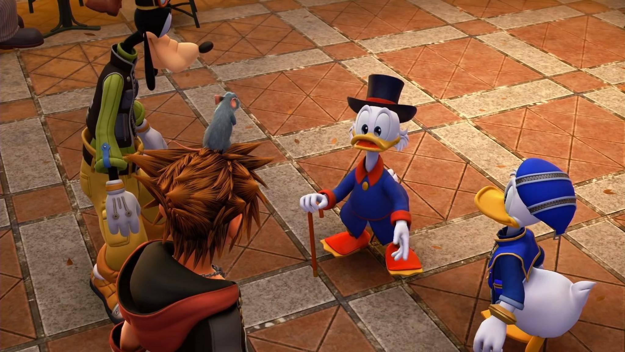 """Entenhausen schön und gut, aber warum gibt's in """"Kingdom Hearts 3"""" eigentlich keine Landung auf Tatooine?"""