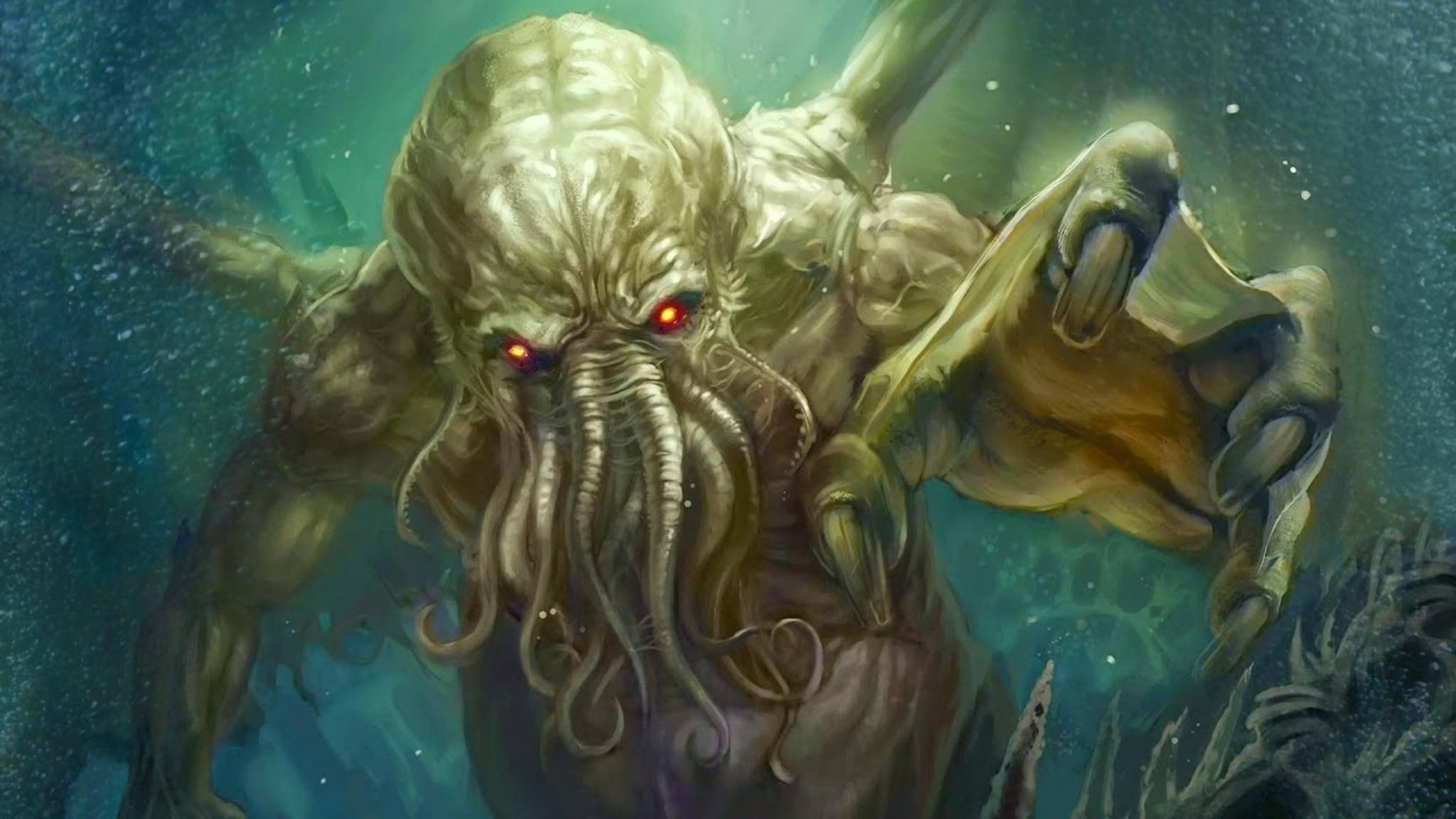 Der Große Cthulhu ist sauer – wann gibt's endlich mal wieder ein wirklich gutes Lovecraft-Spiel...?