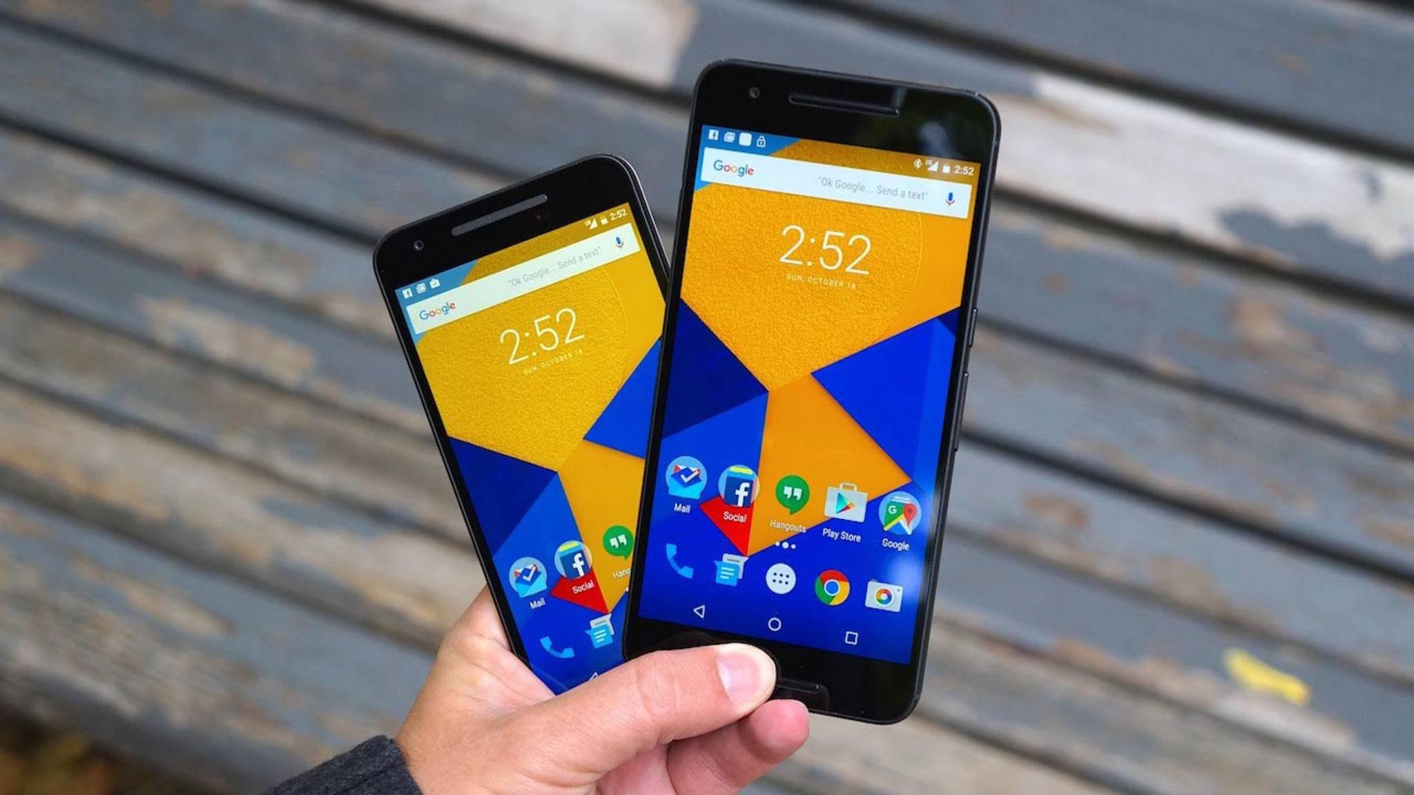 Für das Nexus 5X kommen seit diesem Monat keine Updates mehr.