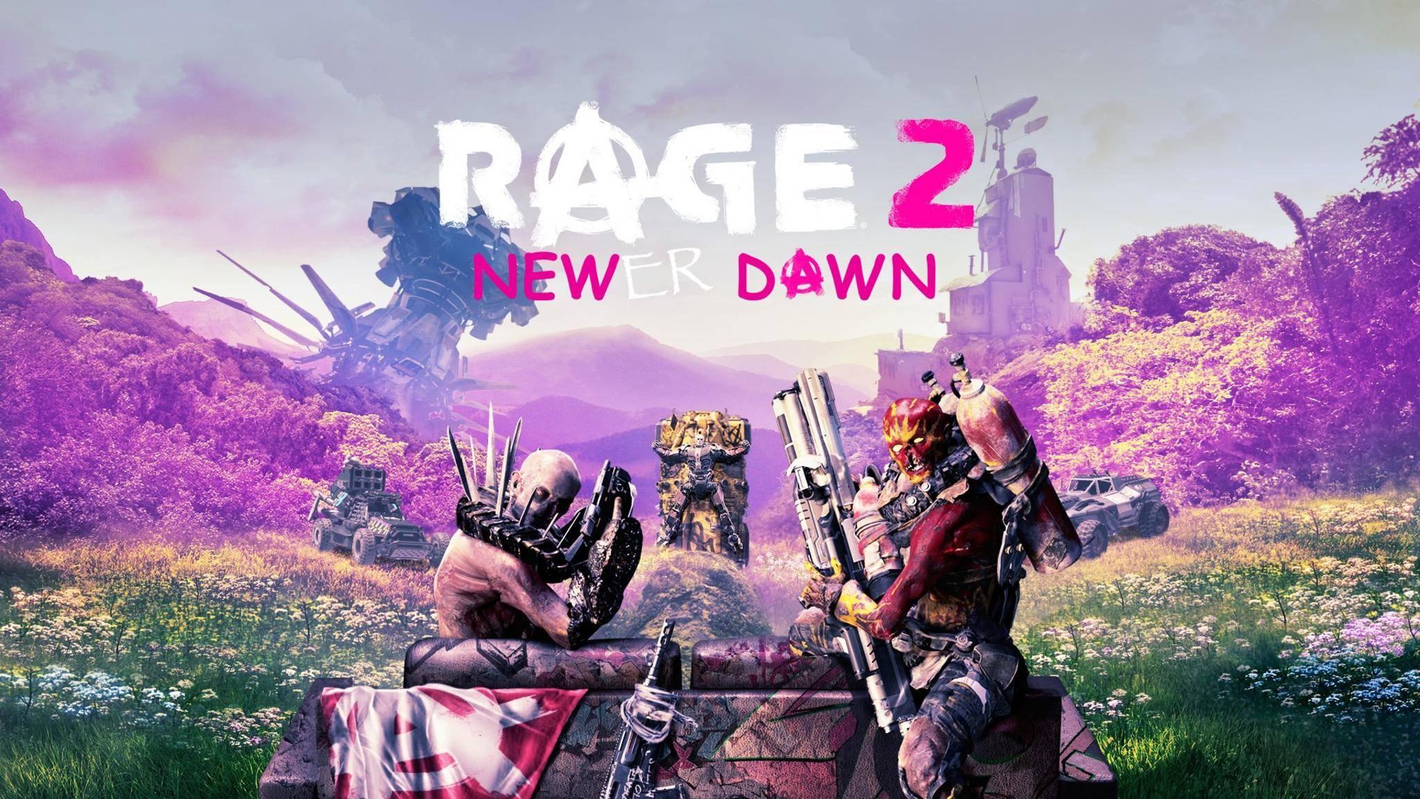 """Crossover confirmed? Nein, den Machern von """"Rage 2"""" sitzt nur der Schalk im Nacken ..."""