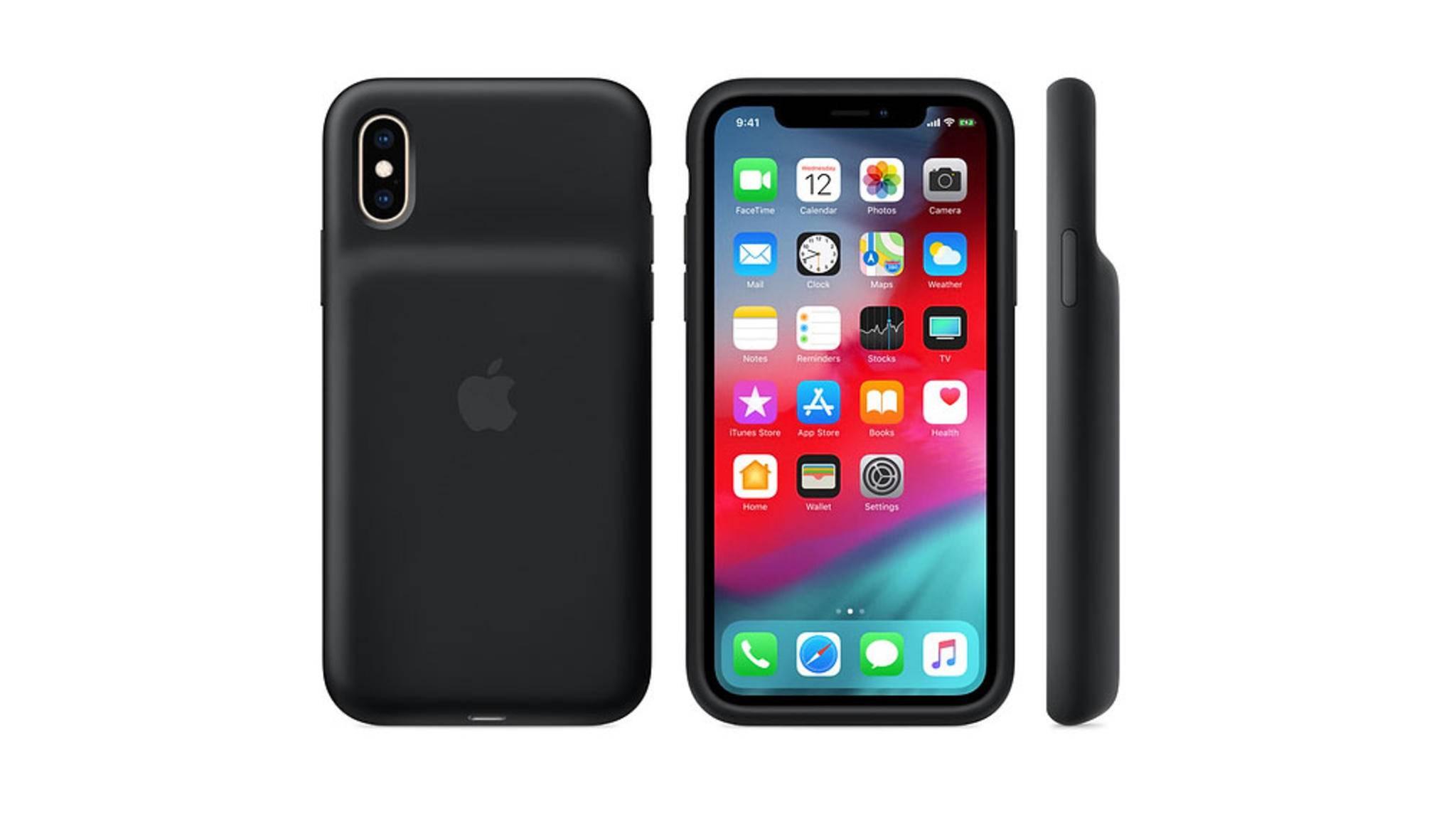 Das neue Smart Battery Case funktioniert doch mit dem iPhone X.