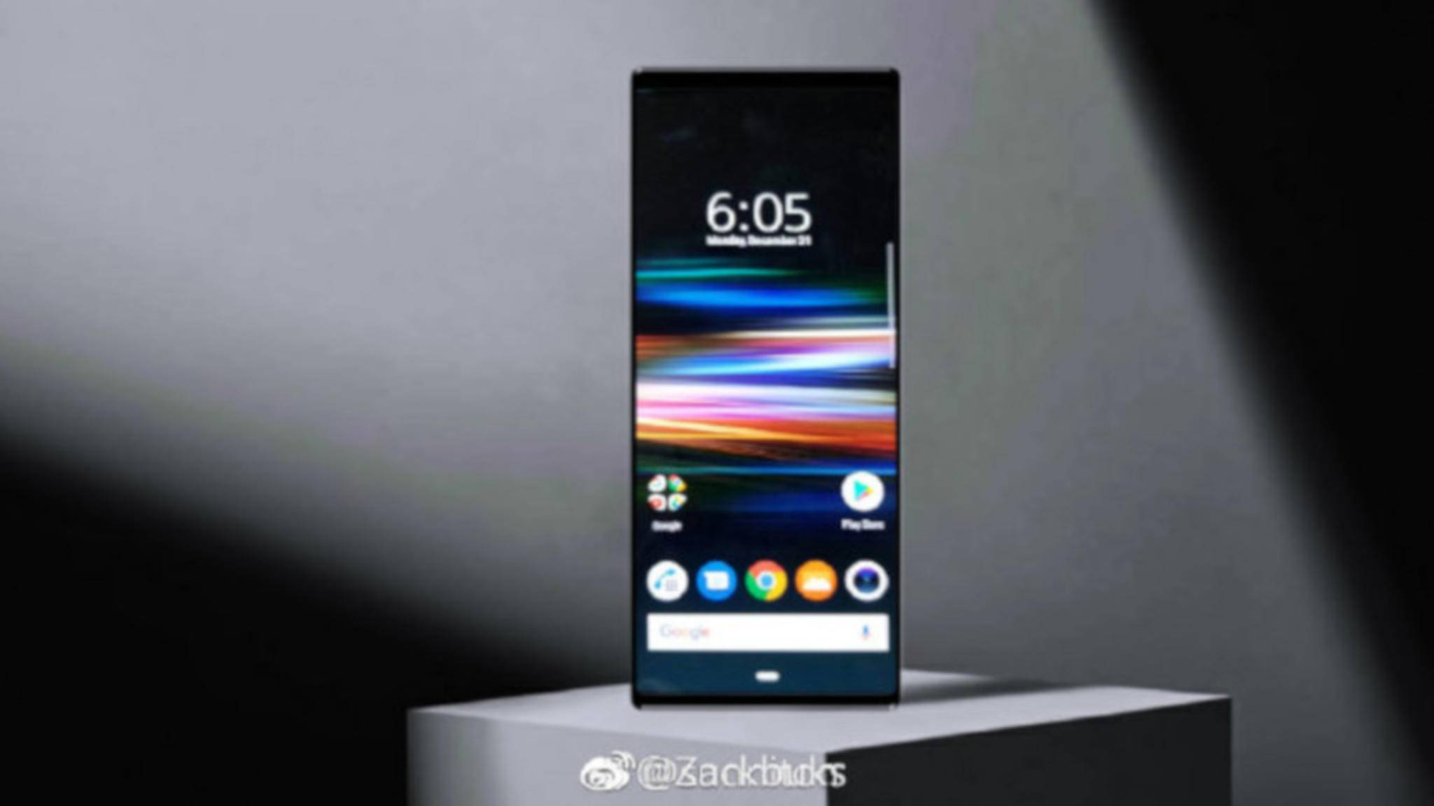 Mit 15,2 Zentimetern ist das Sony Xperia XZ4 ein echt langes Smartphone.