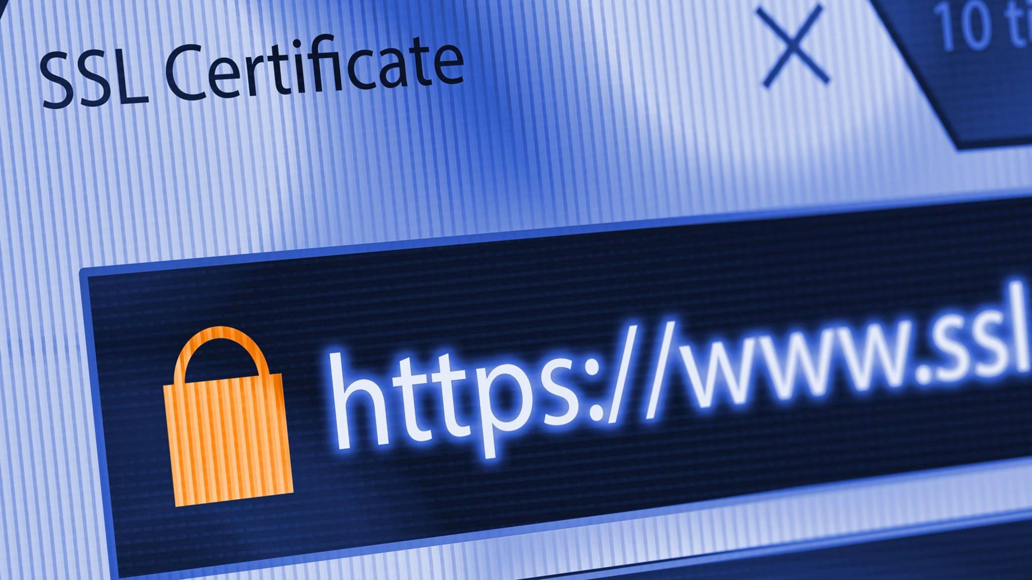 Wenn das SSL-Zertifikat einer Webseite ungültig ist, warnt Dich Firefox davor.