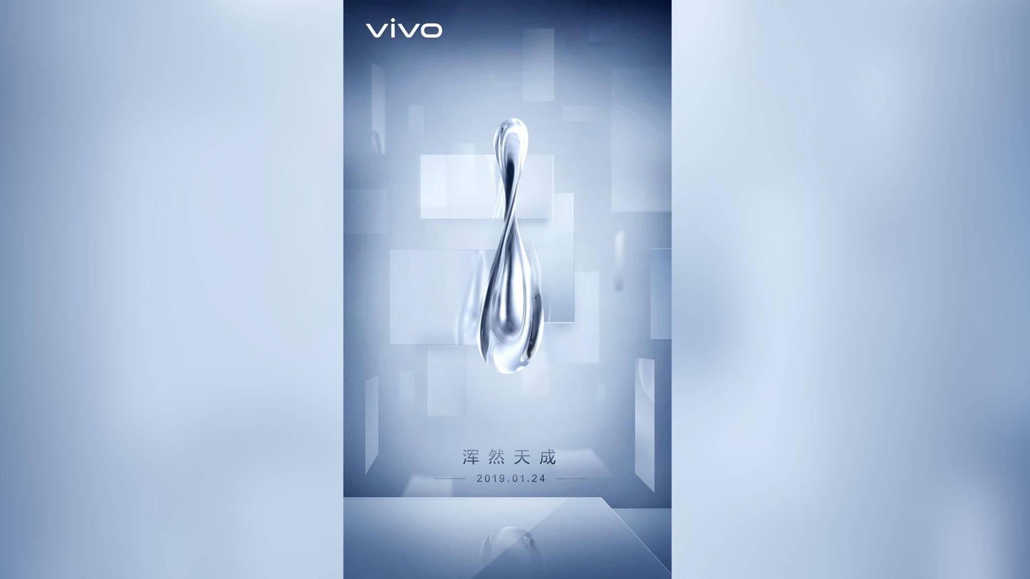 Was will uns Vivo mit diesem Wassertropfen-Teaser nur sagen?