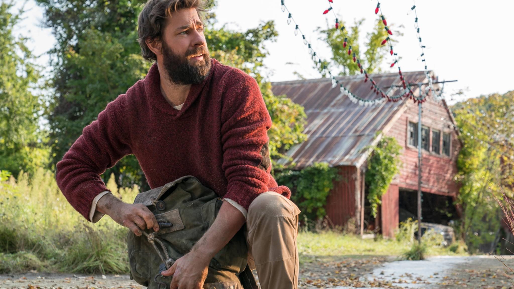 """John Krasinski schultert in """"A Quiet Place 2"""" wieder eine Mehrfachrolle."""