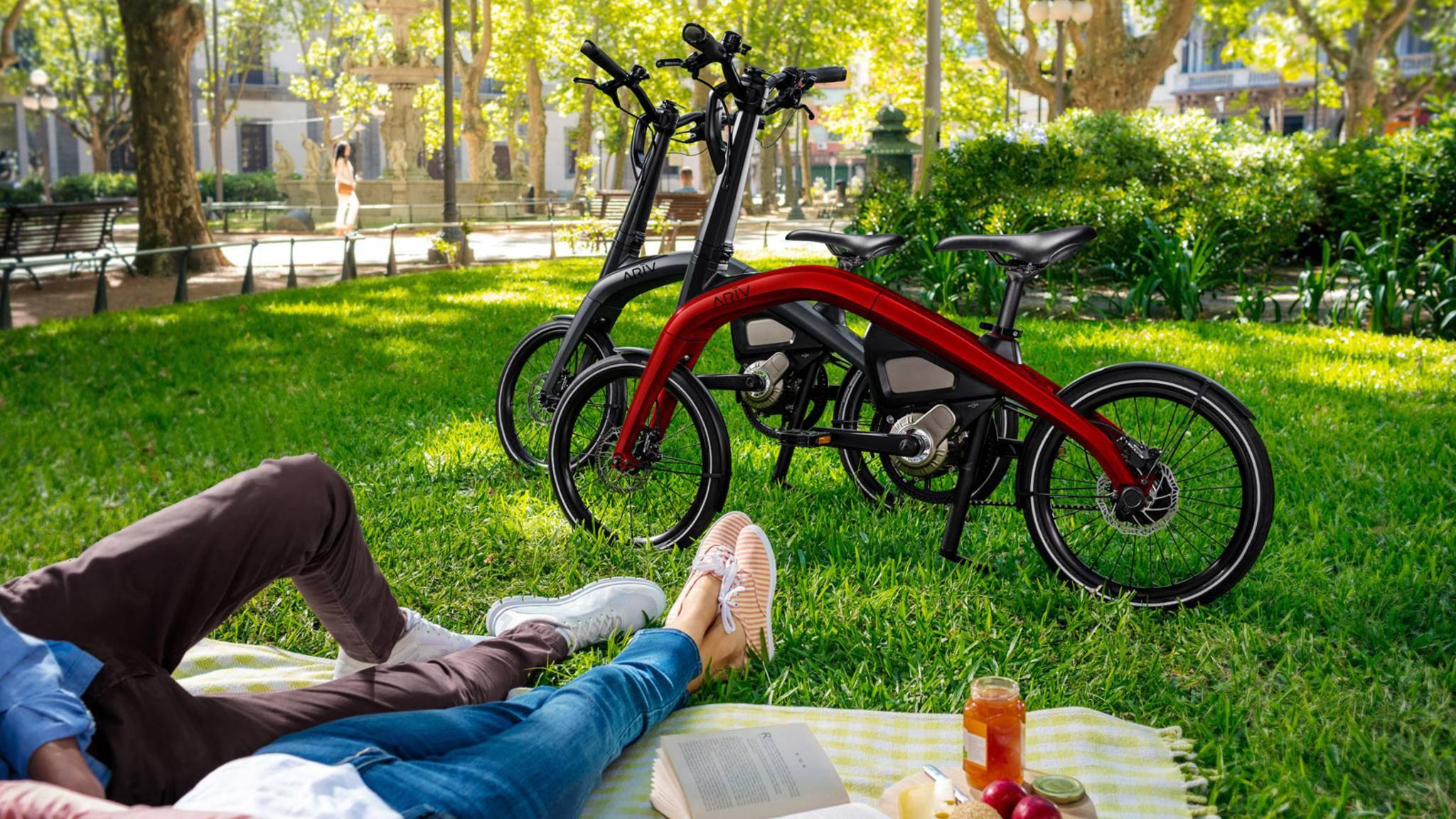Mit den beiden ARĪV-Modellen wagt General Motors sich auf den E-Bike-Markt.