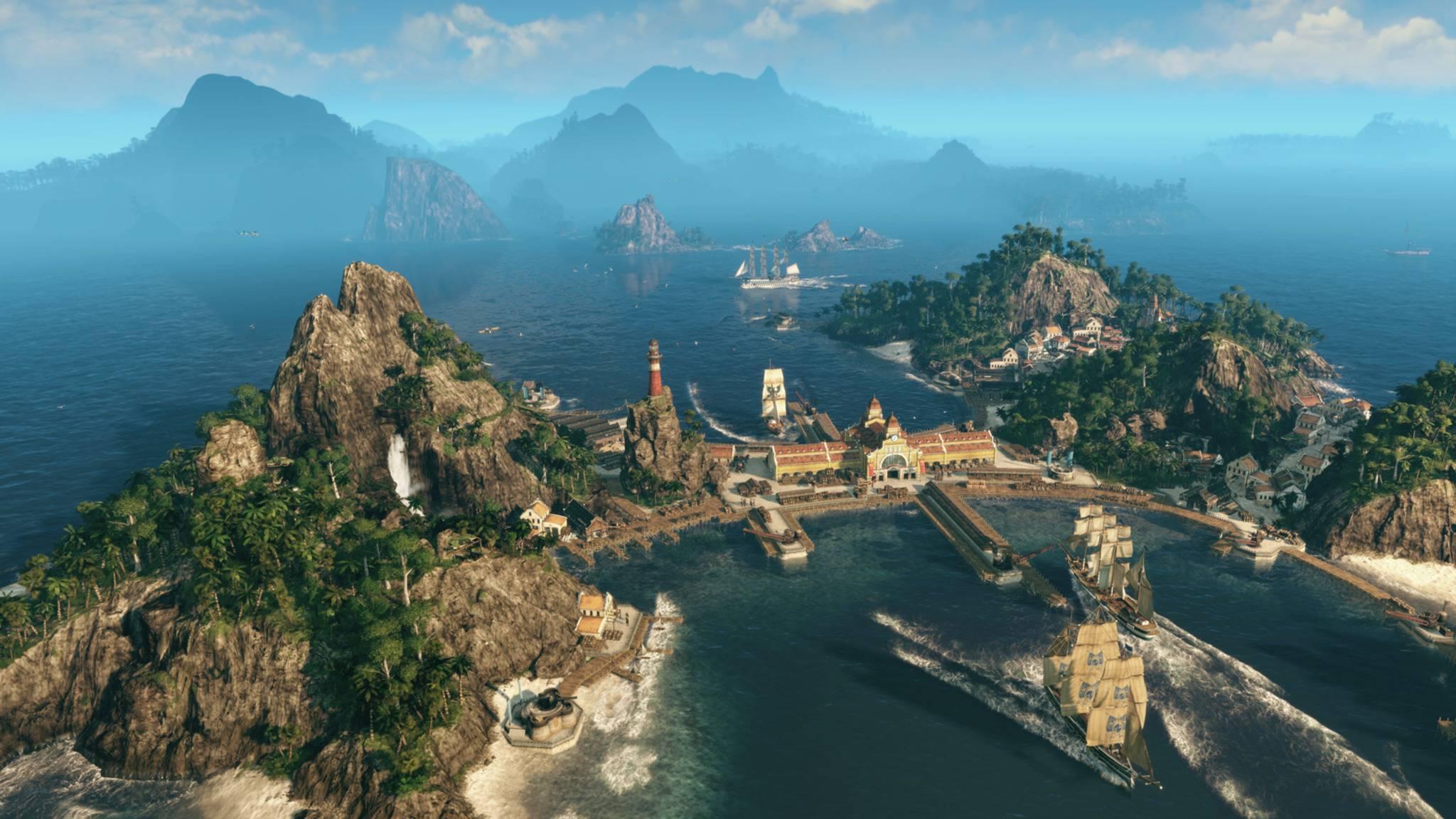 Anno 1800 auf PS4 & Xbox One spielen – geht das?