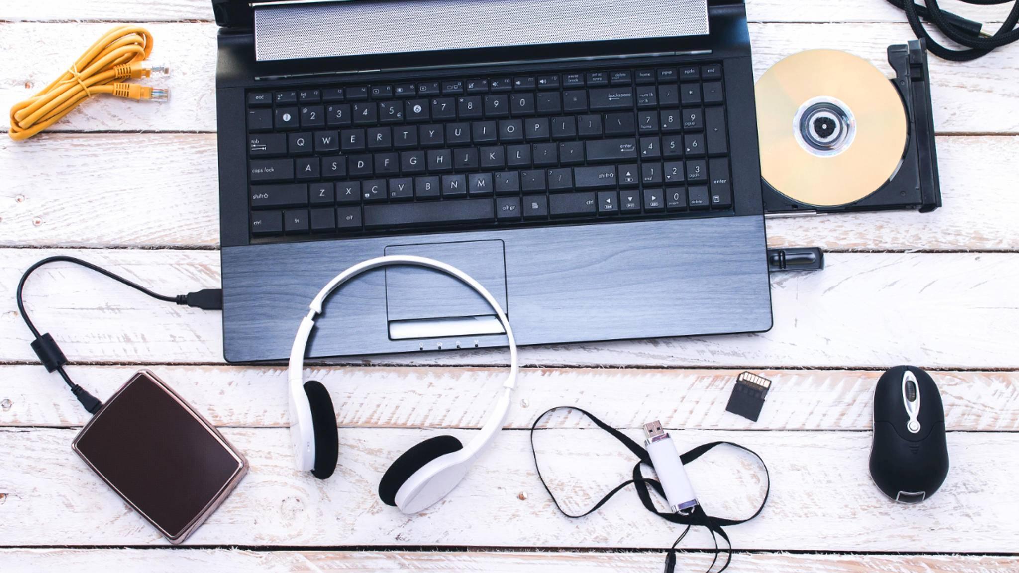 Das Einschalten von Bluetooth funktioniert von Gerät zu Gerät etwas unterschiedlich.