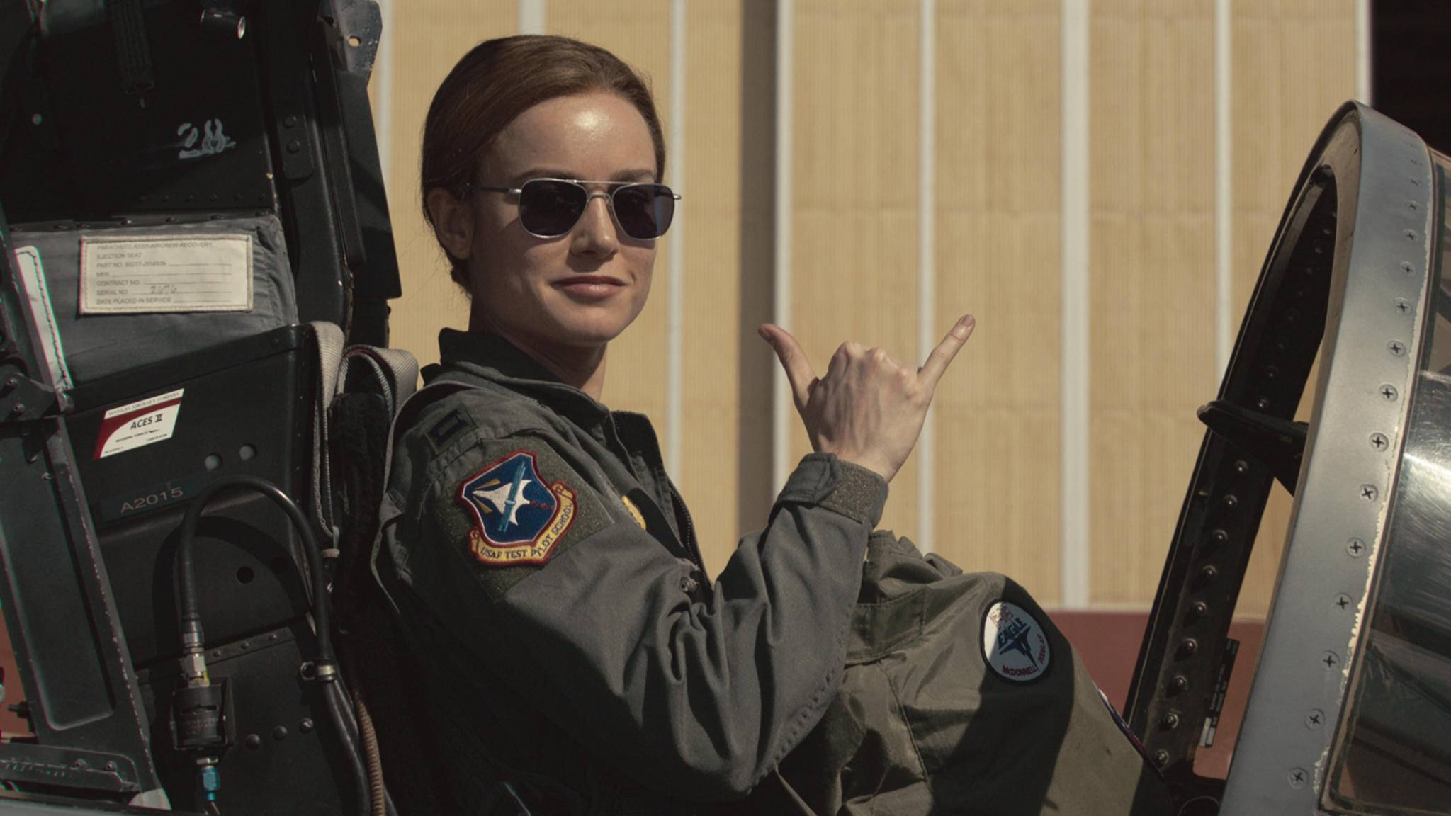 """Da hat Brie Larson gut lachen: """"Captain Marvel"""" ist auf Rekordkurs."""