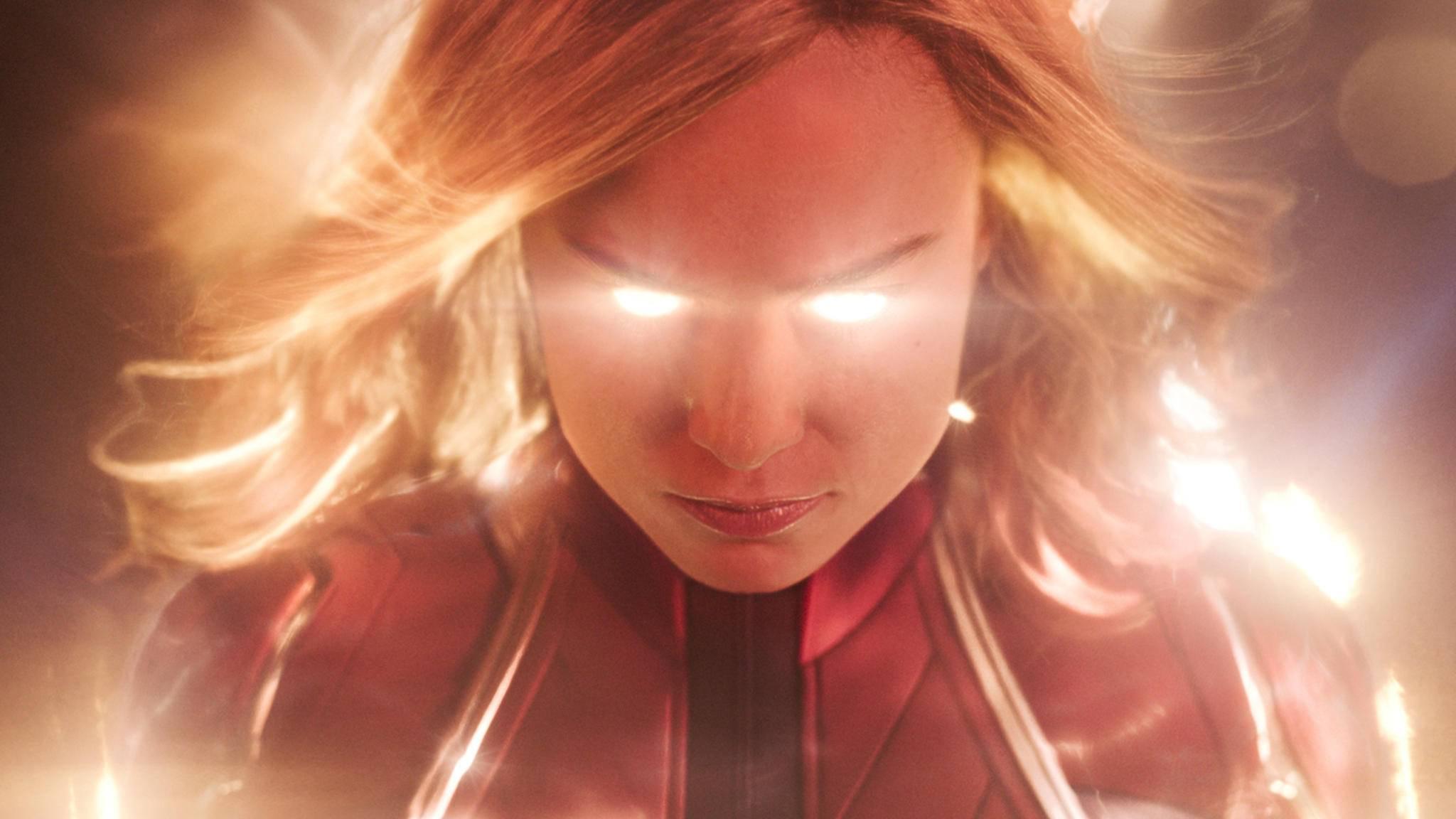 Carol Danvers aka Captain Marvel ist nicht zu stoppen.