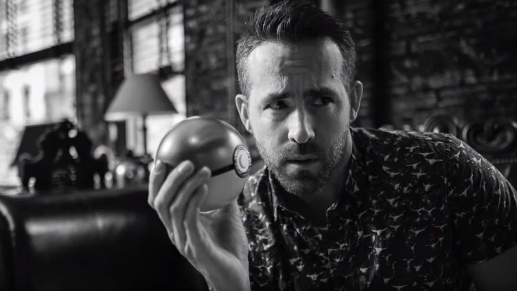 Ryan Reynolds lebt für seine Rolle als Pokémon – sagt er zumindest.