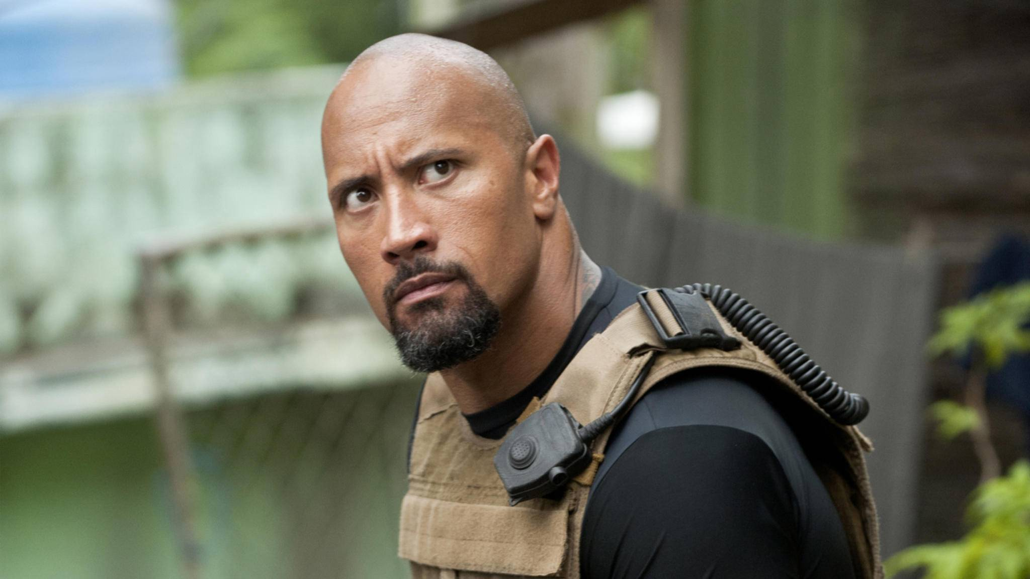 "Dwayne ""The Rock"" Johnson als Hobbs in ""Fast & Furious 5"""