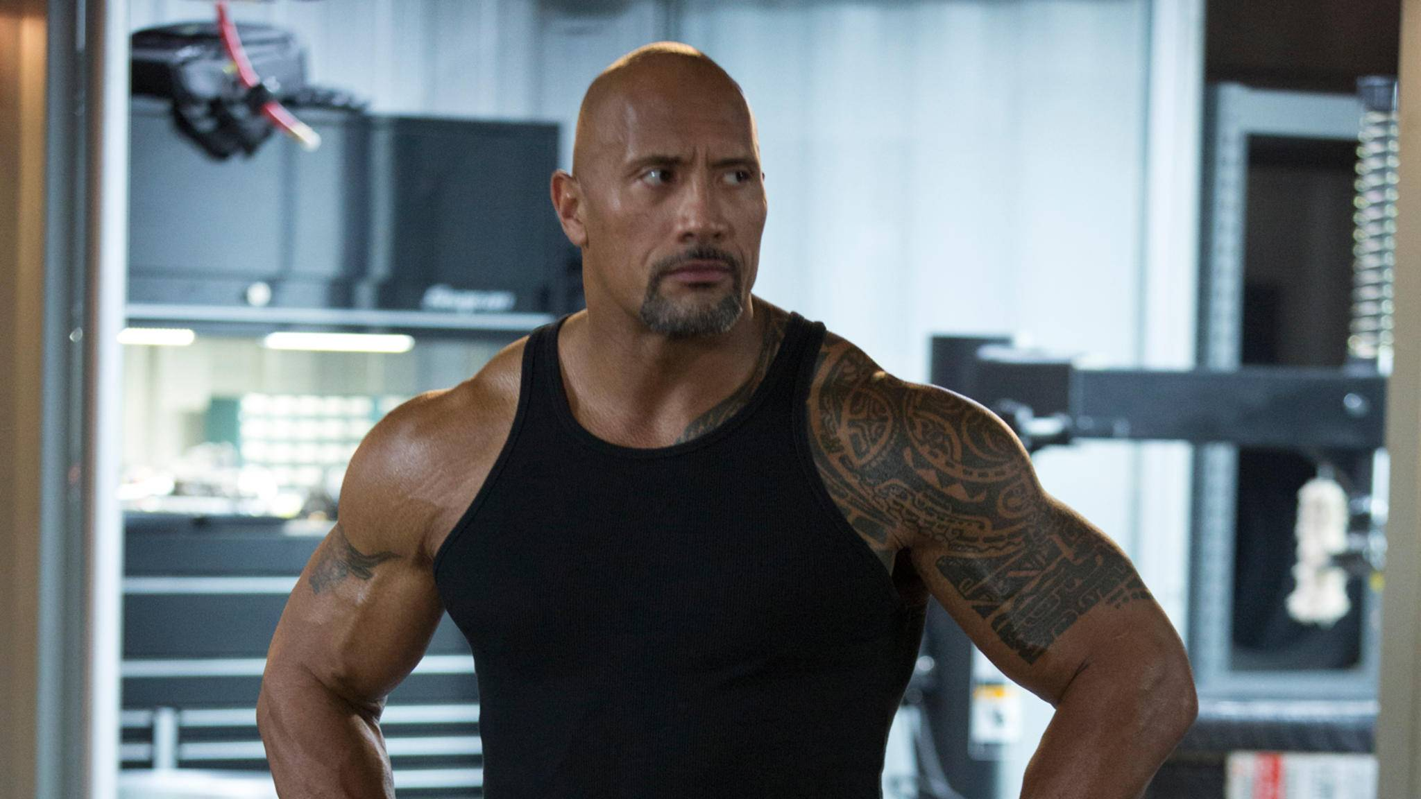 Dwayne Johnson hat ein neues Projekt: The Rock lässt bald bei einer Convention die Muskeln spielen.