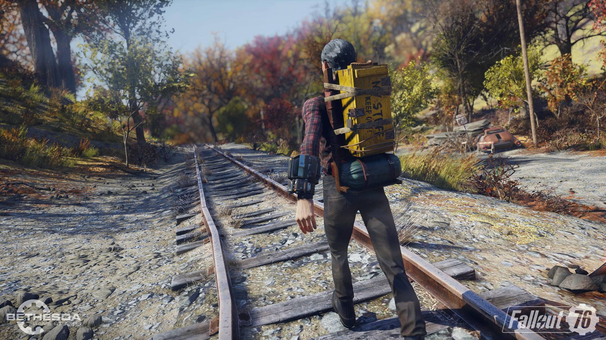 """Mit """"Wastelanders"""" erwarten uns neue Updates in """"Fallout 76""""."""