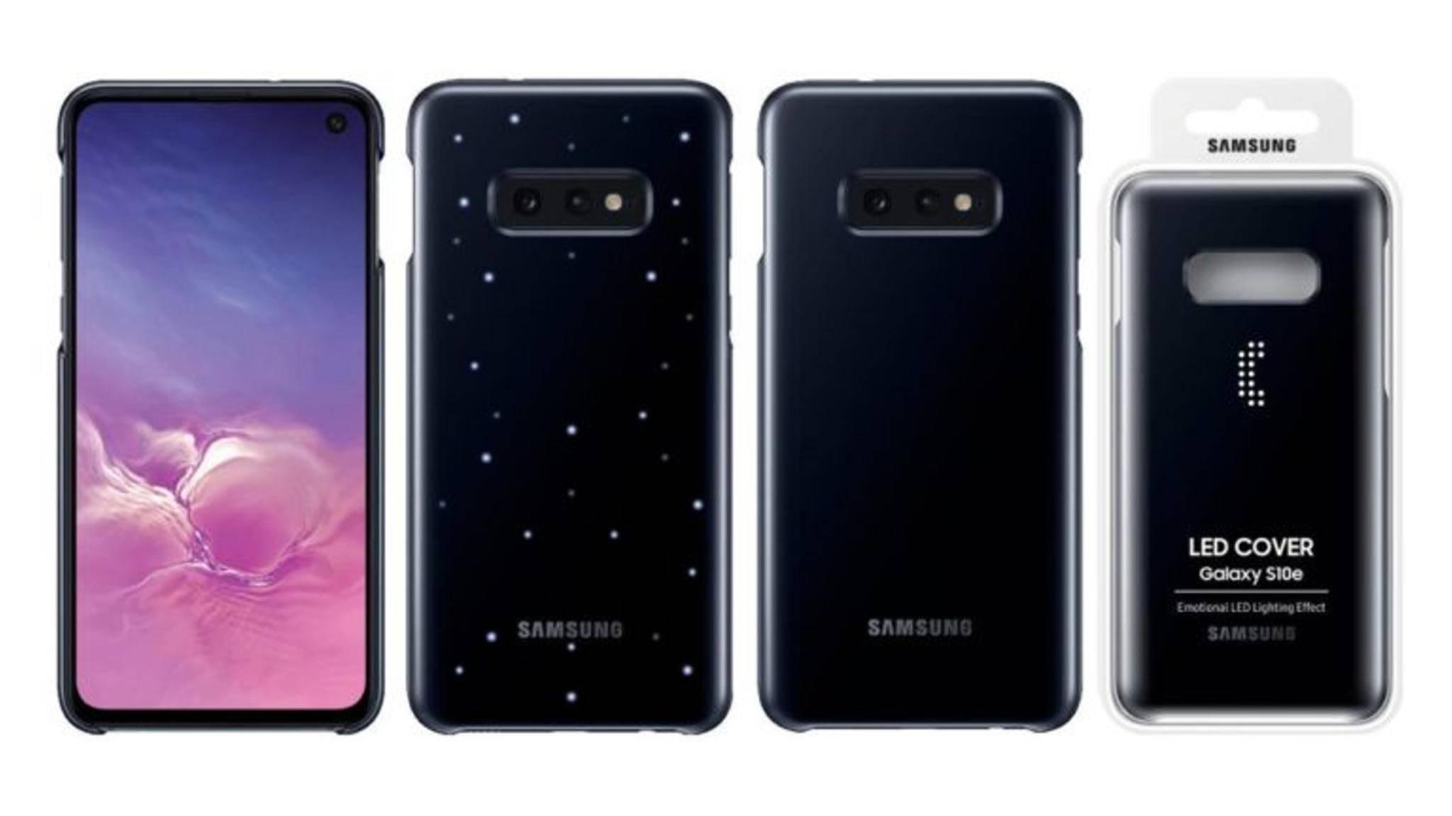 """So soll das """"emotionale"""" Cover für das Galaxy S10 aussehen."""