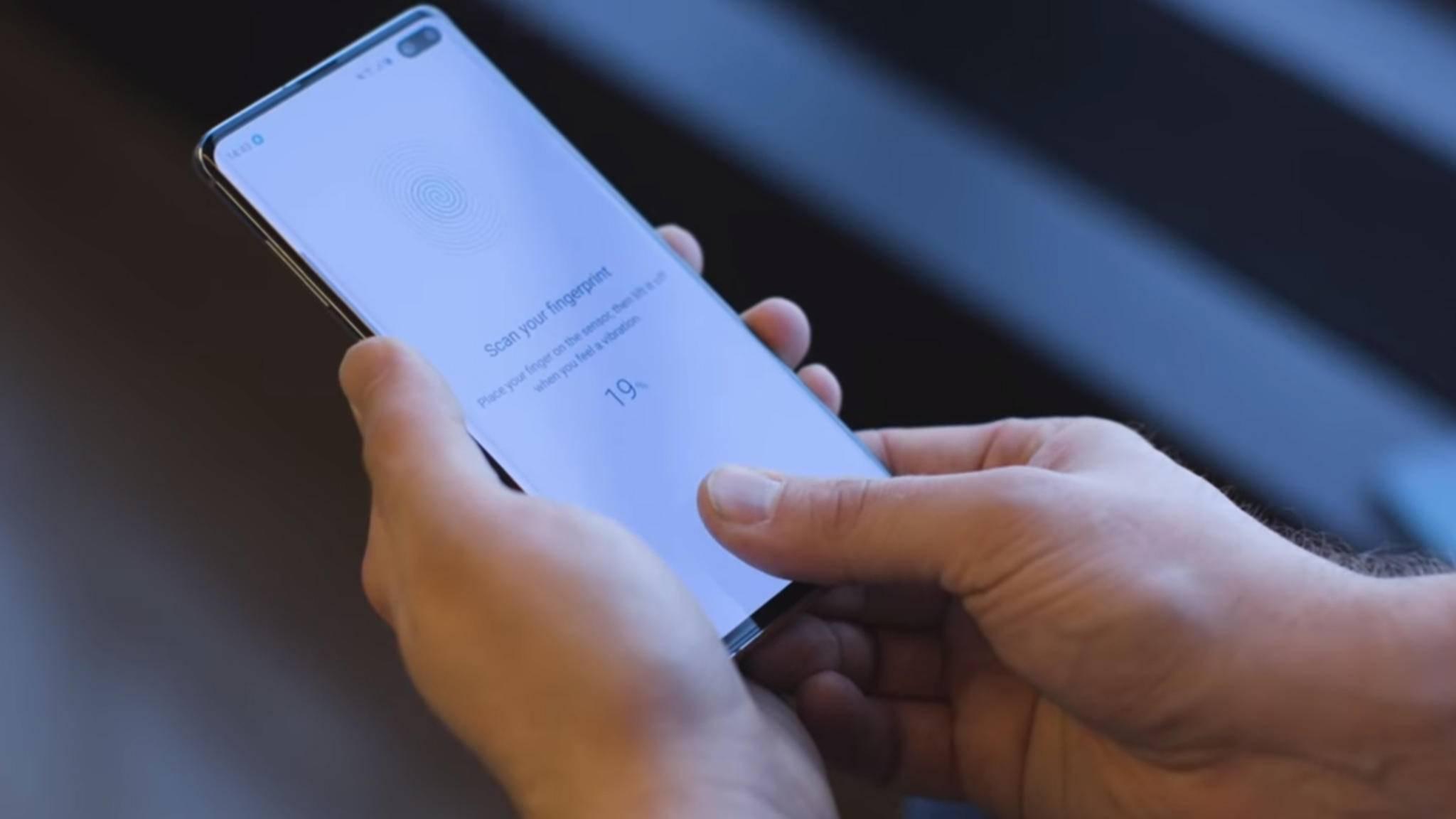 Der Ultraschall-Fingerabdruckscanner im Galaxy S10 Plus ist echtes High-Tech – aber wir brauchen ihn nicht.