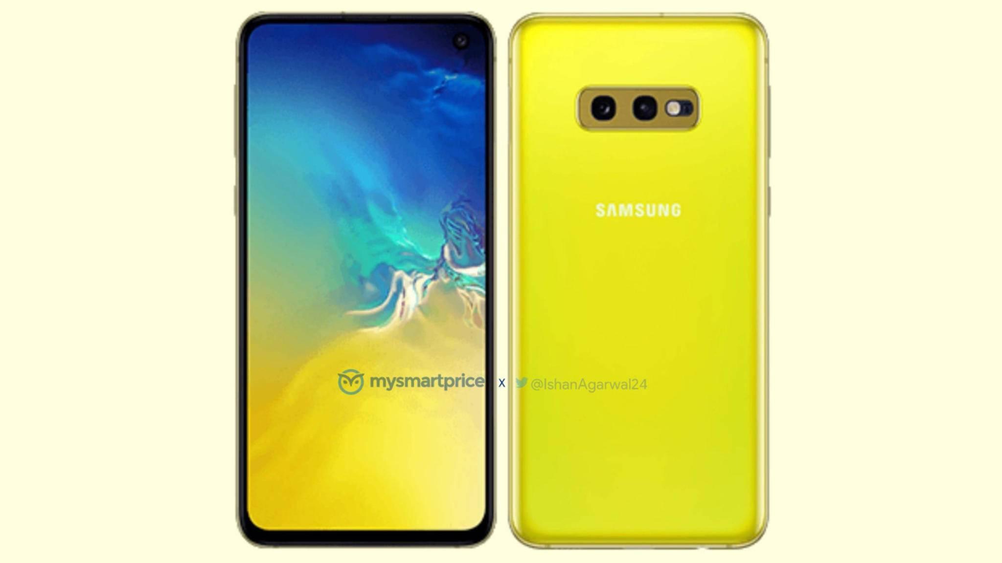 Samsung wagt bei seinem neuen Galaxy S10e auch knalligere Farben.