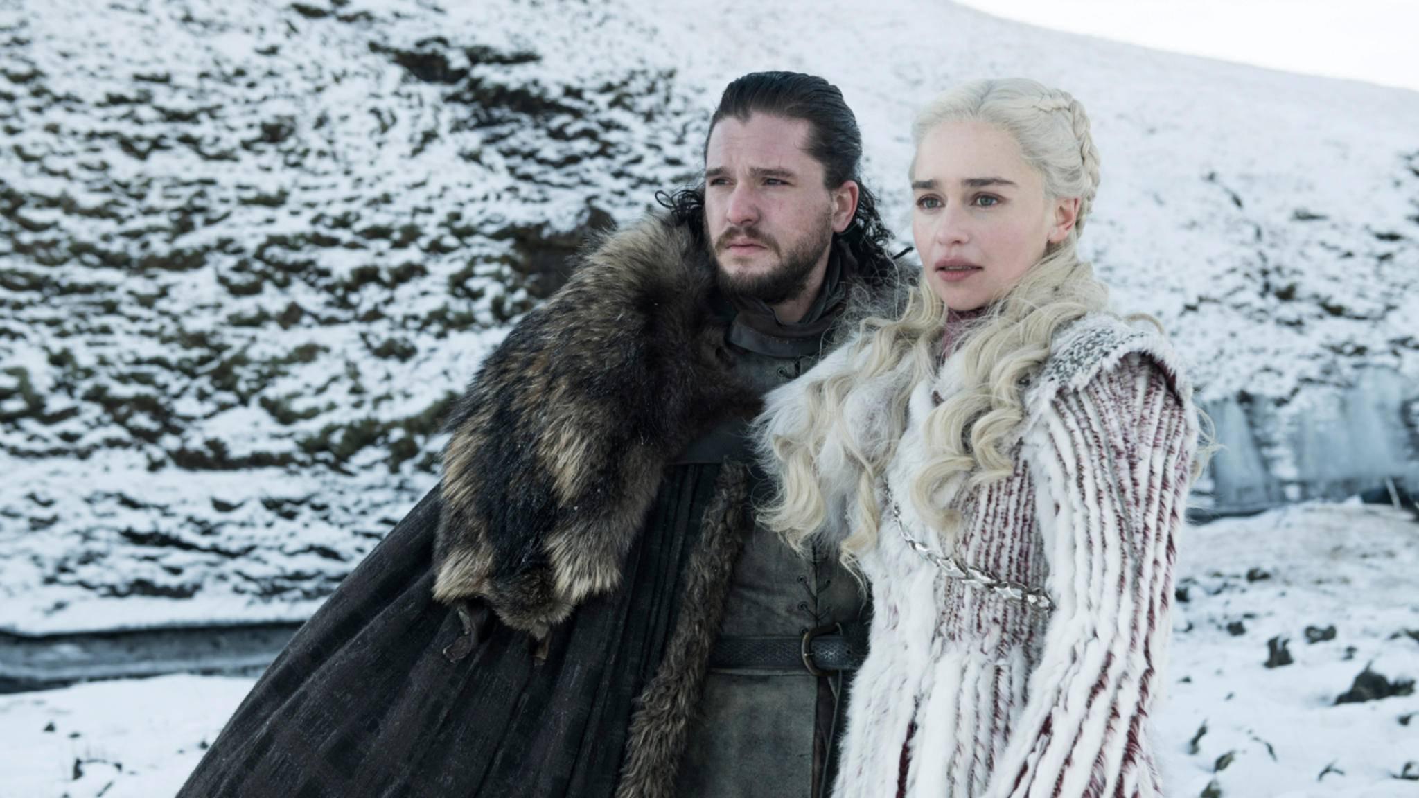 Ob sich Jon Snow und Daenerys Targaryen auch so sehr auf die Ereignisse von Staffel 8 freuen wie die Fans? Fraglich ...