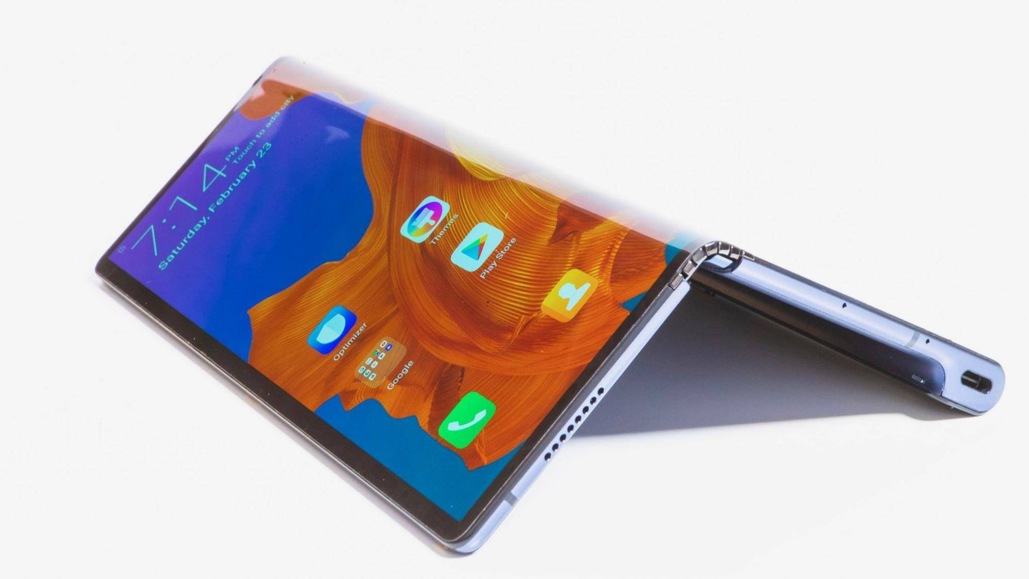 Statt im Juni soll das faltbare Smartphone Huawei Mate X nun im Herbst auf den Markt kommen.