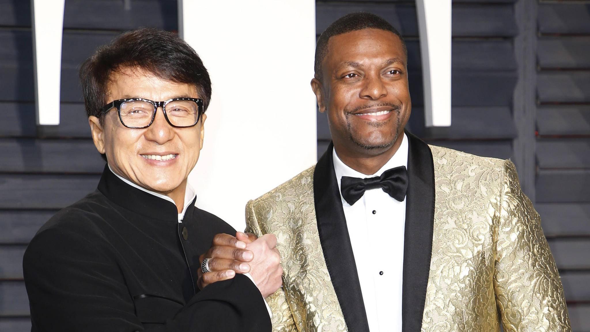 """Chris Tucker und Jackie Chan wollen es in """"Rush Hour 4"""" noch einmal wissen."""