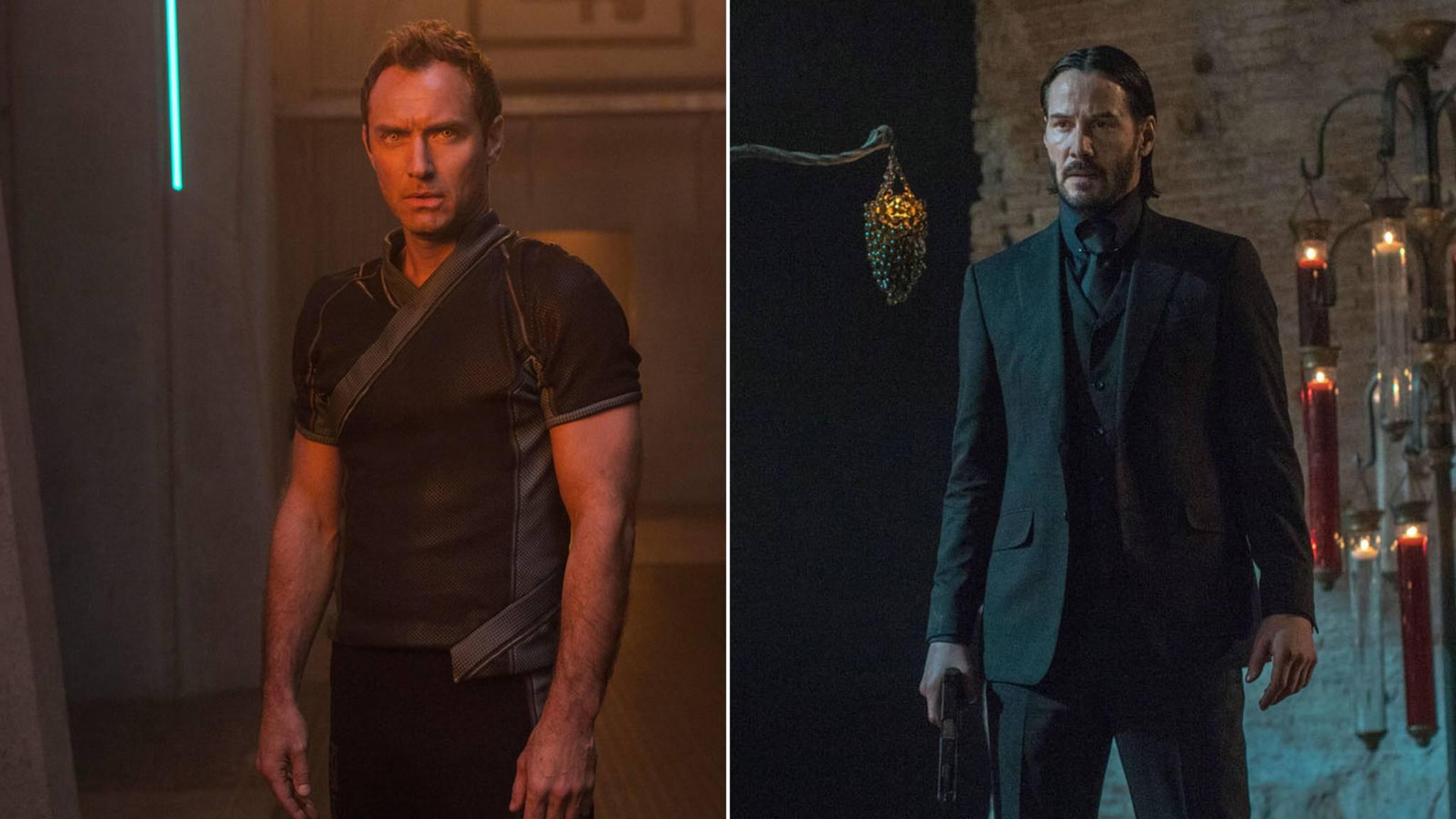 """Anstelle von Jude Law hätten wir beinahe Keanu Reeves in """"Captain Marvel"""" bewundern dürfen."""