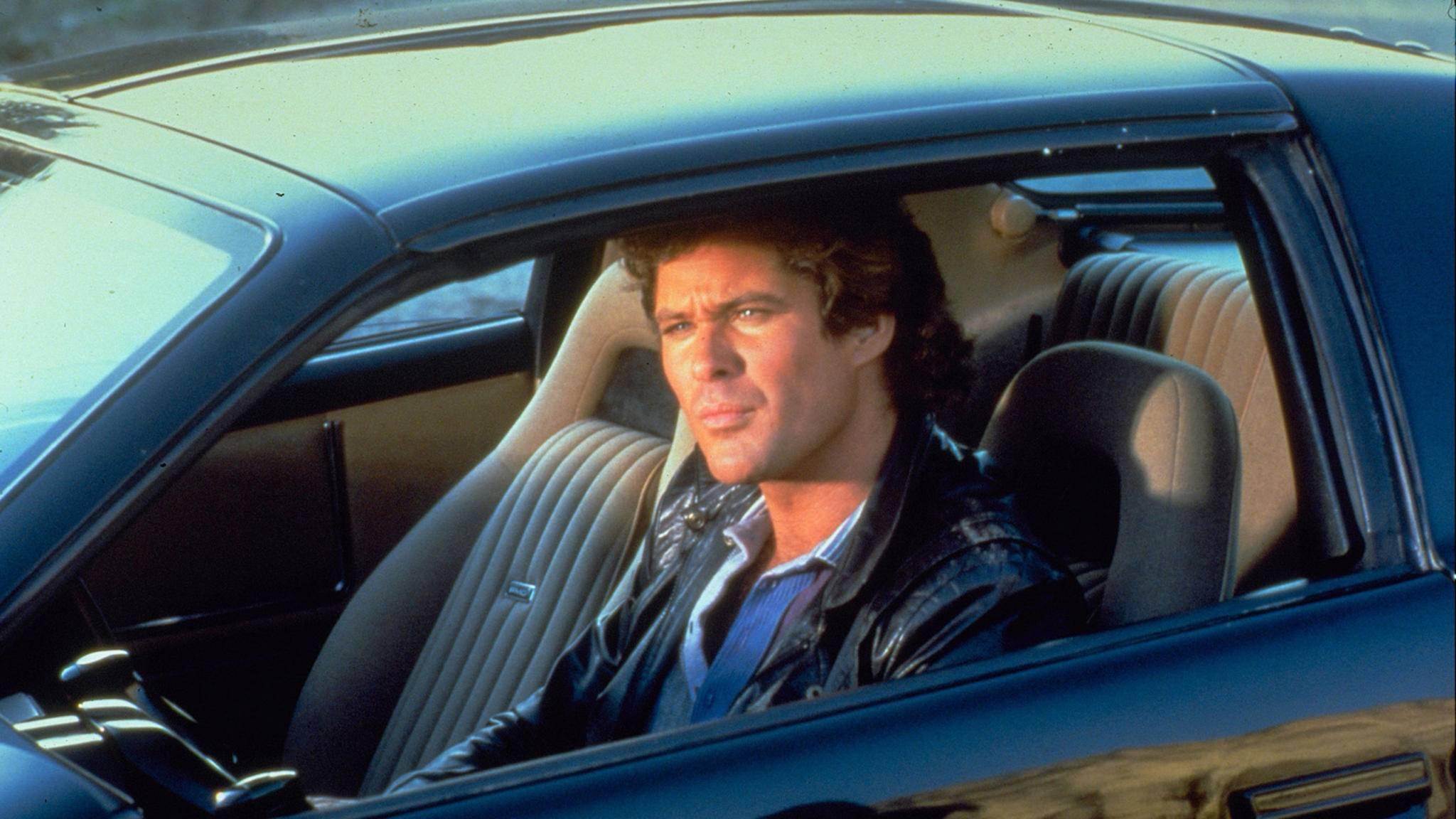 """Werden wir """"The Hoff"""" in seiner """"Knight Rider""""-Rolle wiedersehen?"""