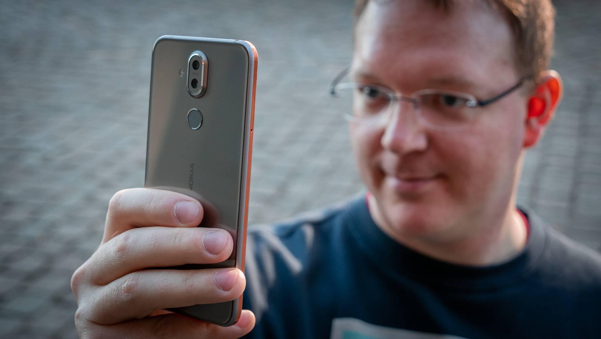 Zeit für den Android-Neujahrsputz (hier das Nokia 8.1).