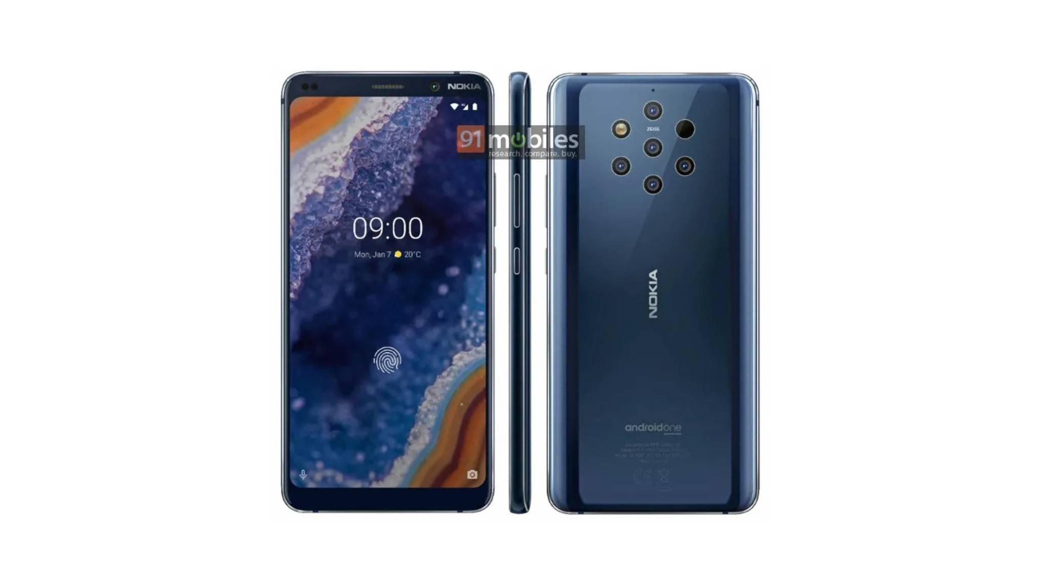Neue Pressebilder zeigen angeblich das Nokia 9 PureView.