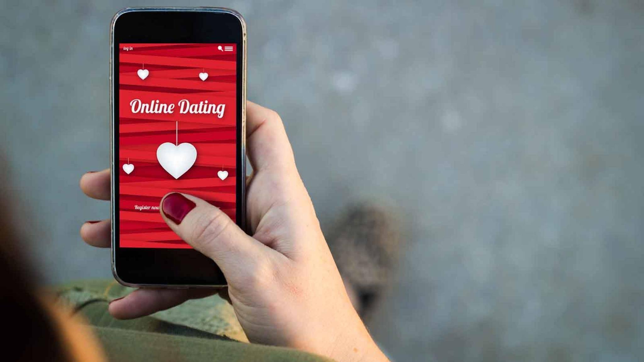 Die meisten Befragten nutzen Online-Dating-Dienste auf dem Smartphone.