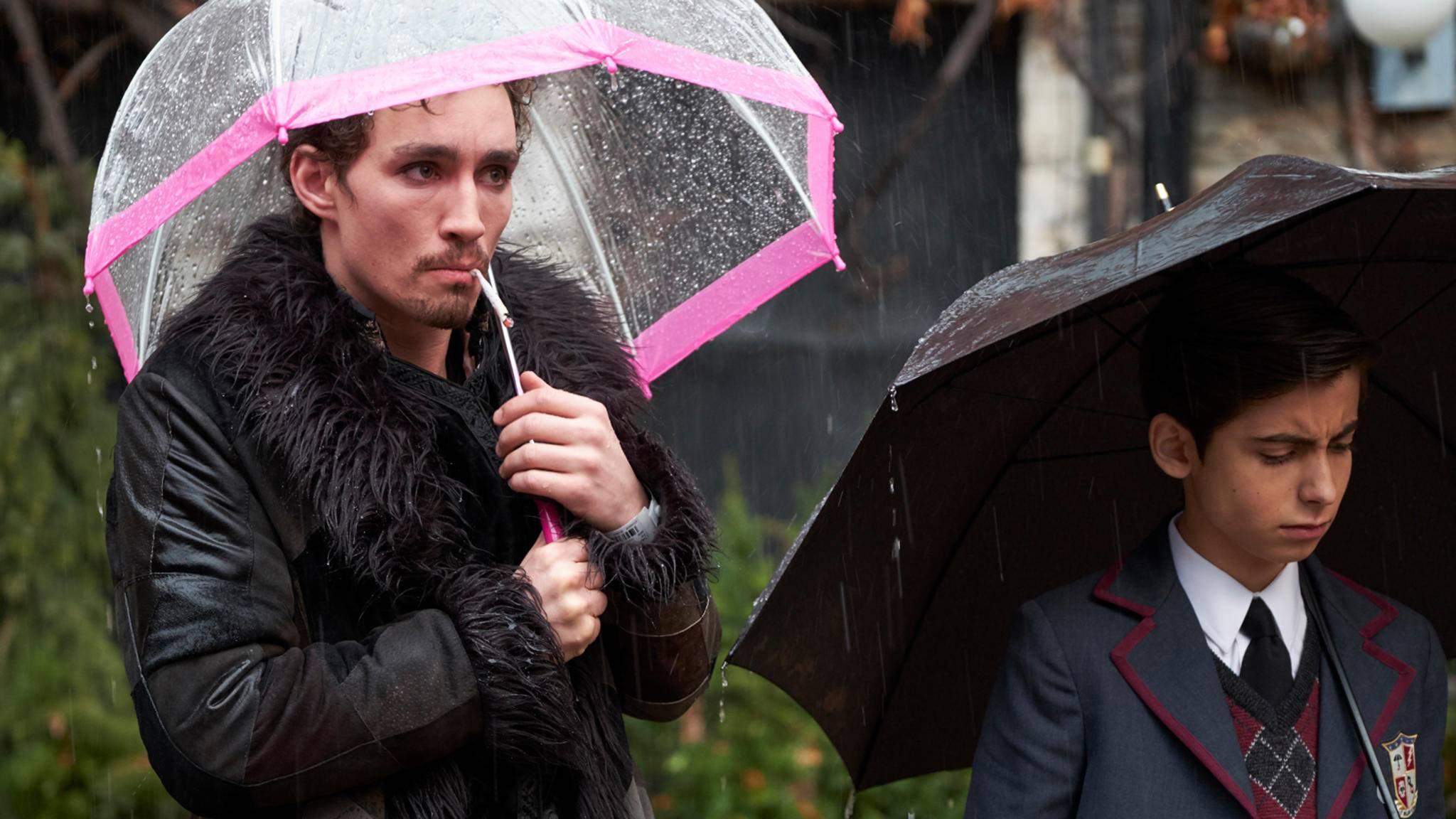 """Die Netflix-User lassen """"The Umbrella Academy"""" nicht im Regen stehen – im Gegenteil!"""