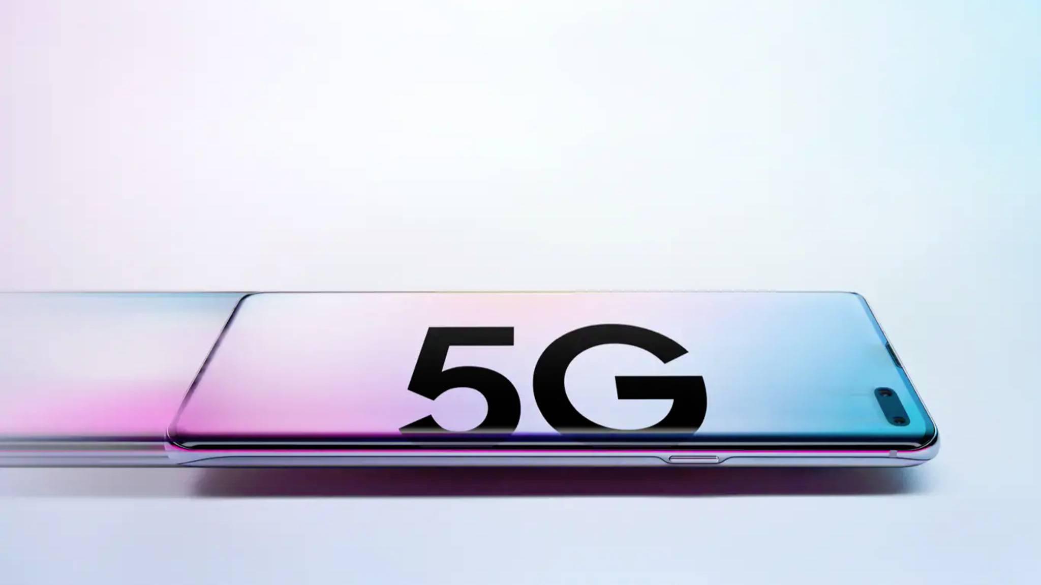 Samsungs Galaxy S10 5G tut sich momentan mit dem Wechsel von 5G zu LTE ein wenig schwer.