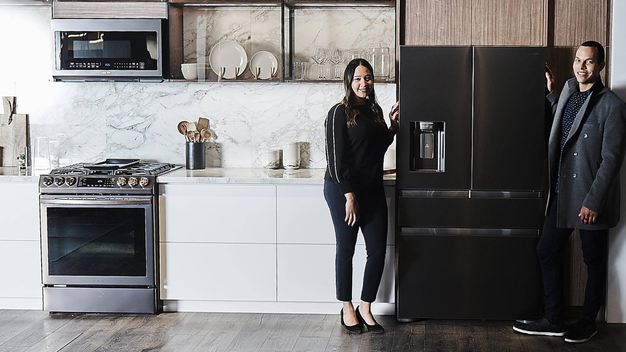 Warme Töne sollen bei Samsung bald auch auf Kühlschrank und Herd selbst zu finden sein.